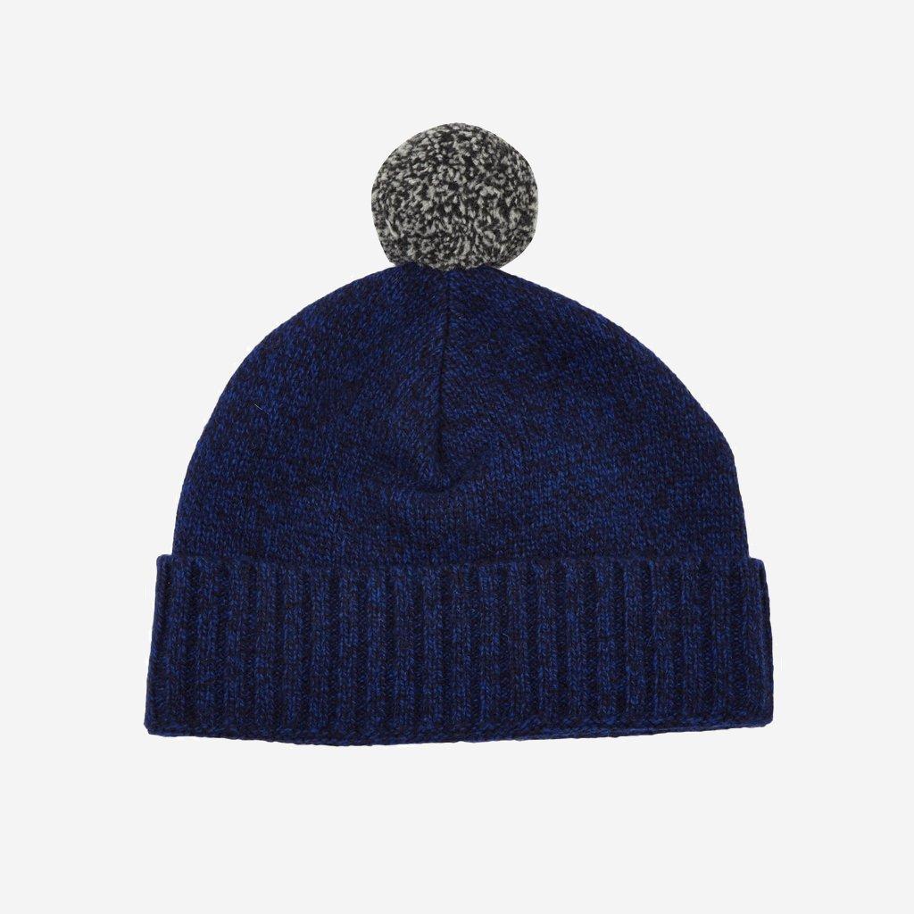 Oliver Spencer Blended Hat Navy Blue