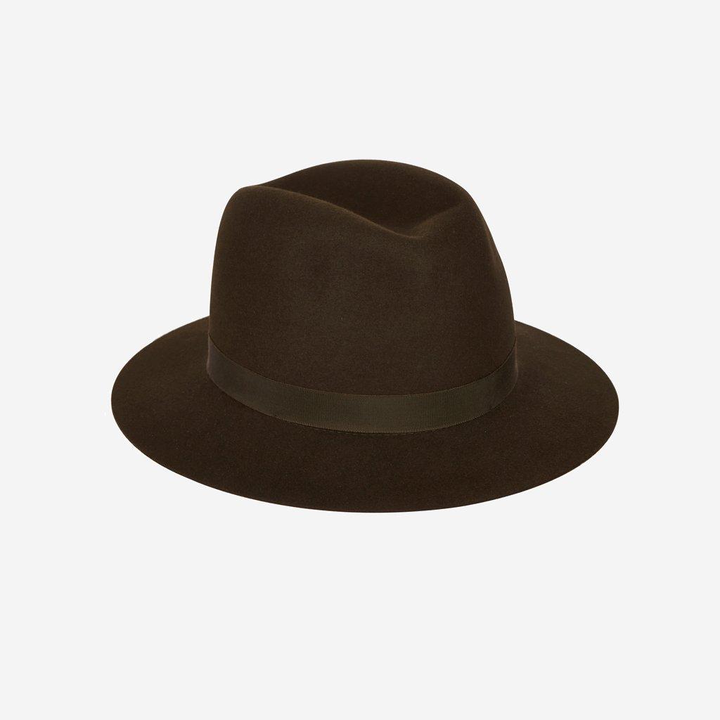Olney Crushable Fur Felt Hat