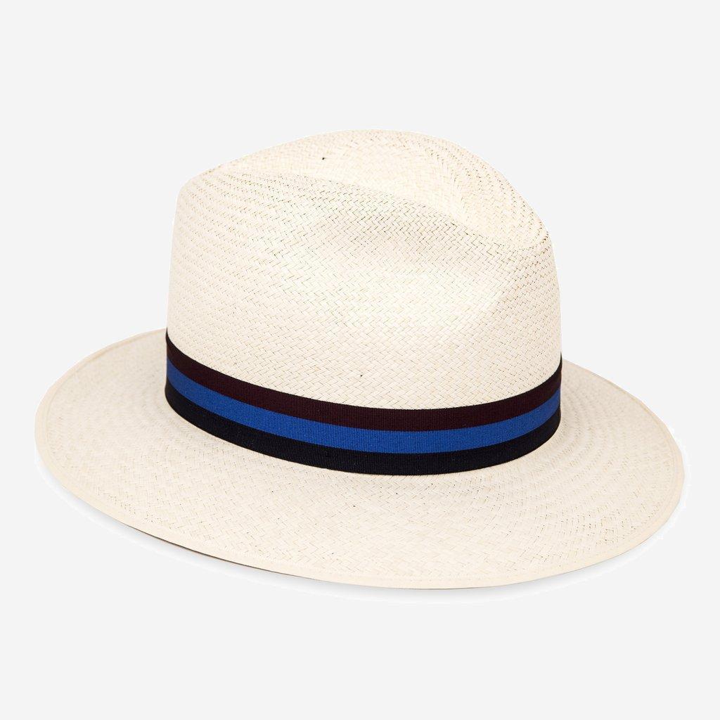 Olney Drop Brim Panama Hat