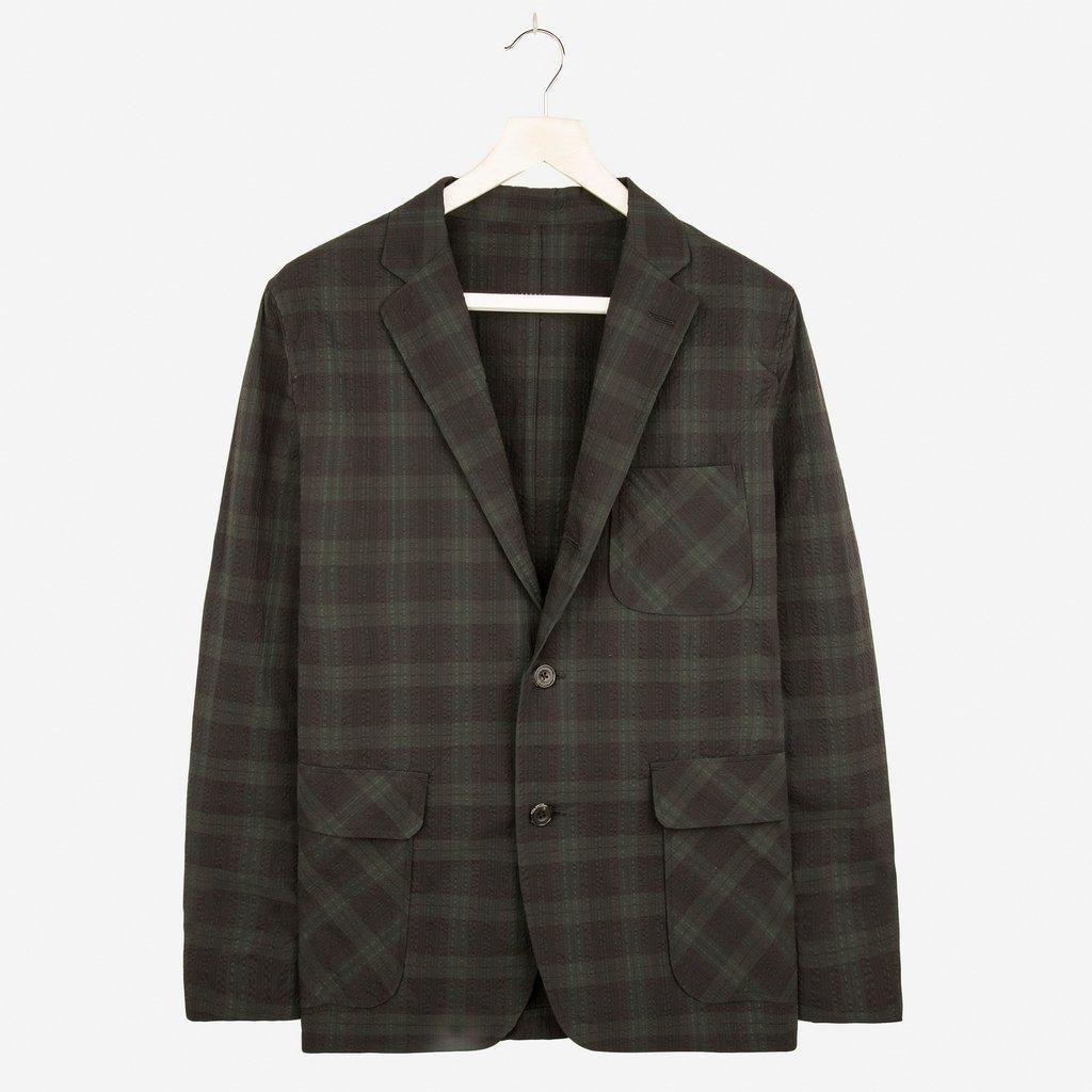 Beams Plus Checked Blazer