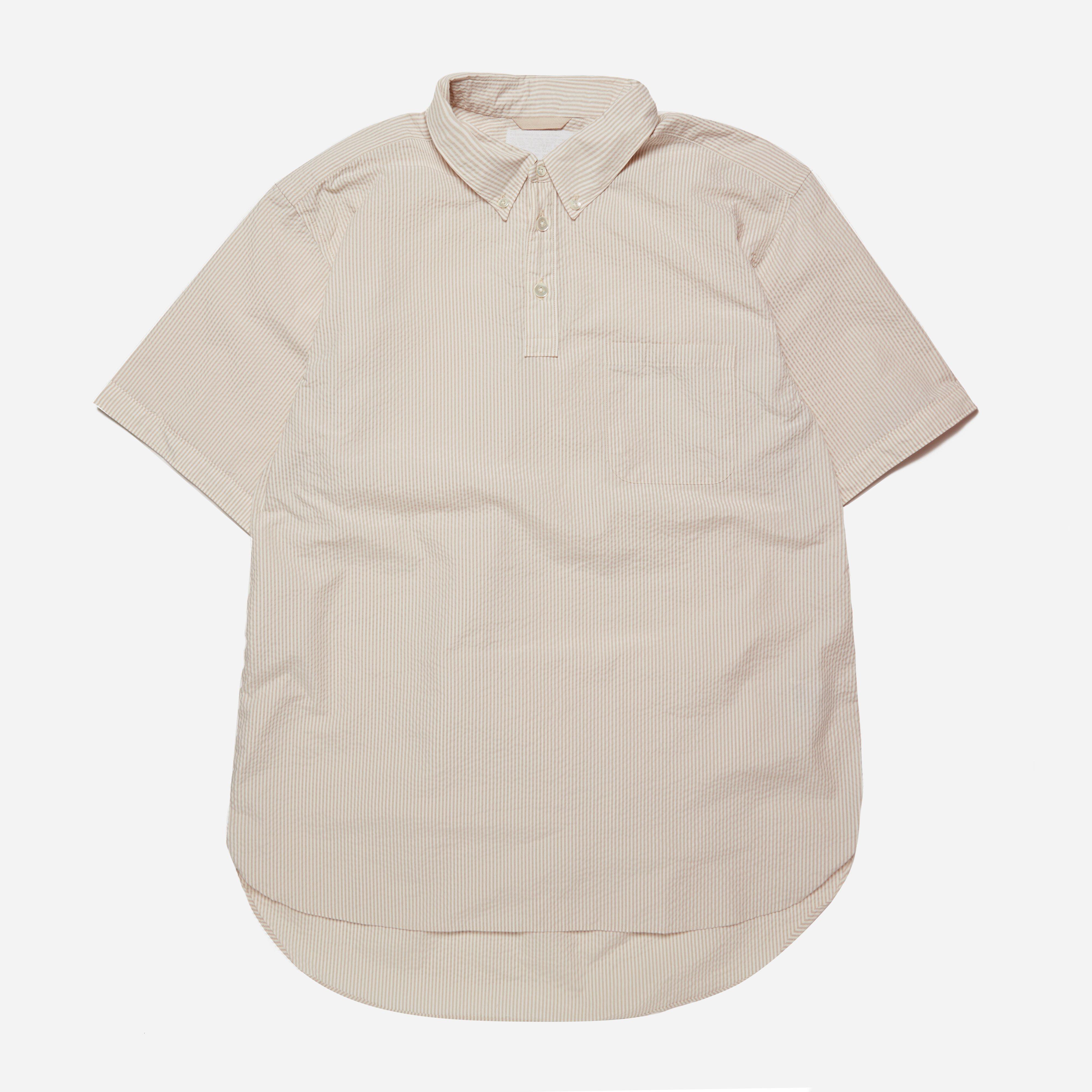 Nanamica Wind Button Down Popover Shirt