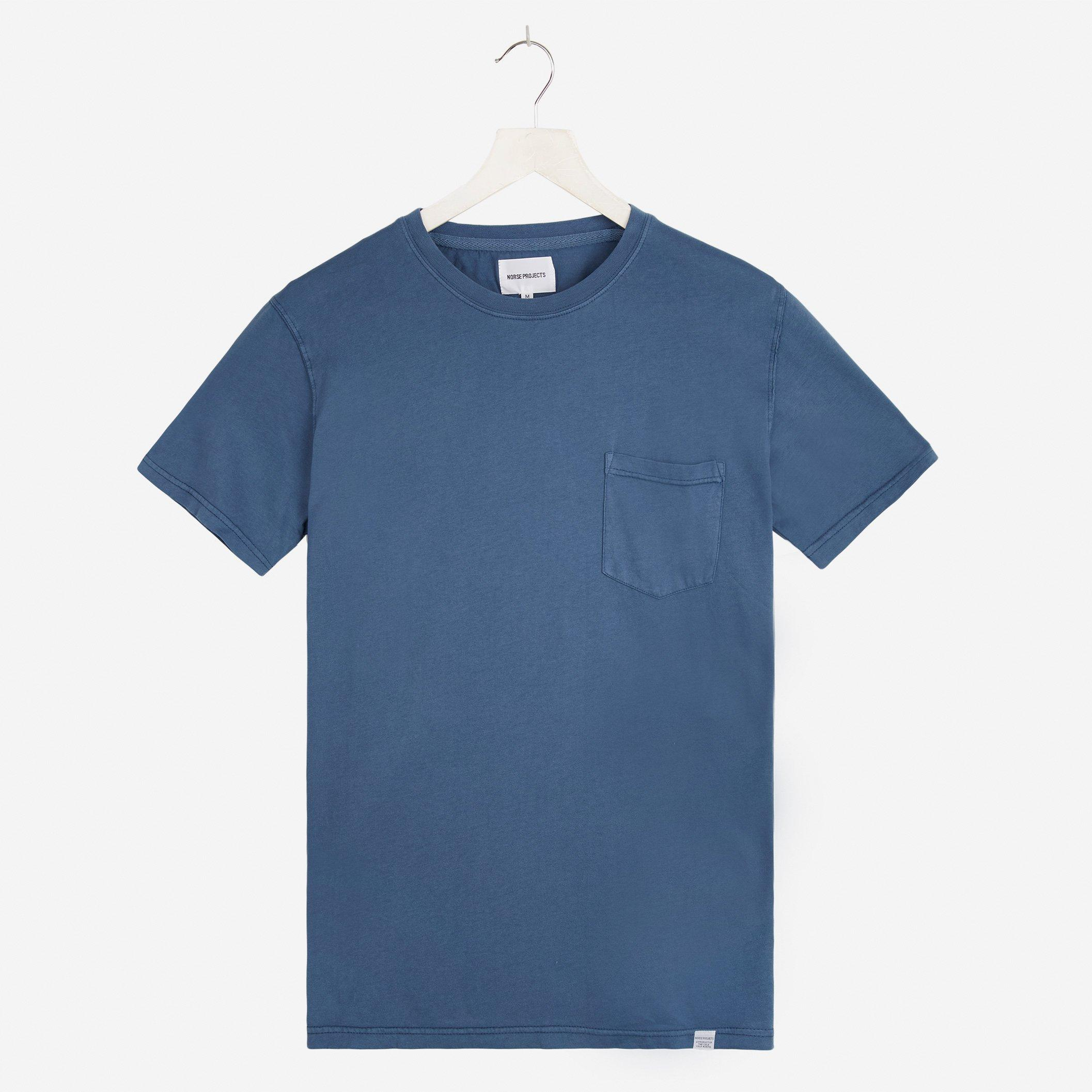 Norse Projects Niels Dry Overdye Pocket T-shirt