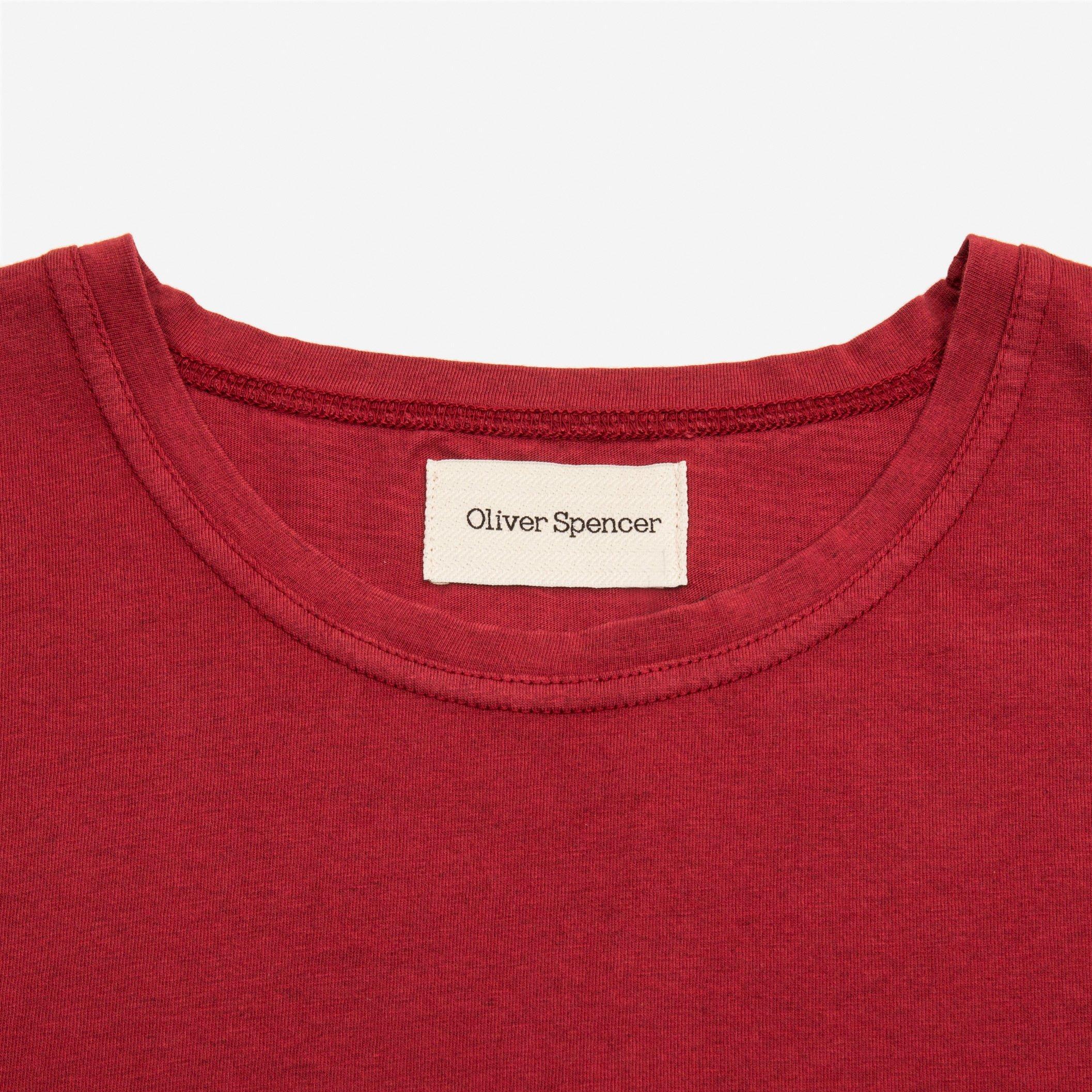 Oliver Spencer Envelope Tee Red