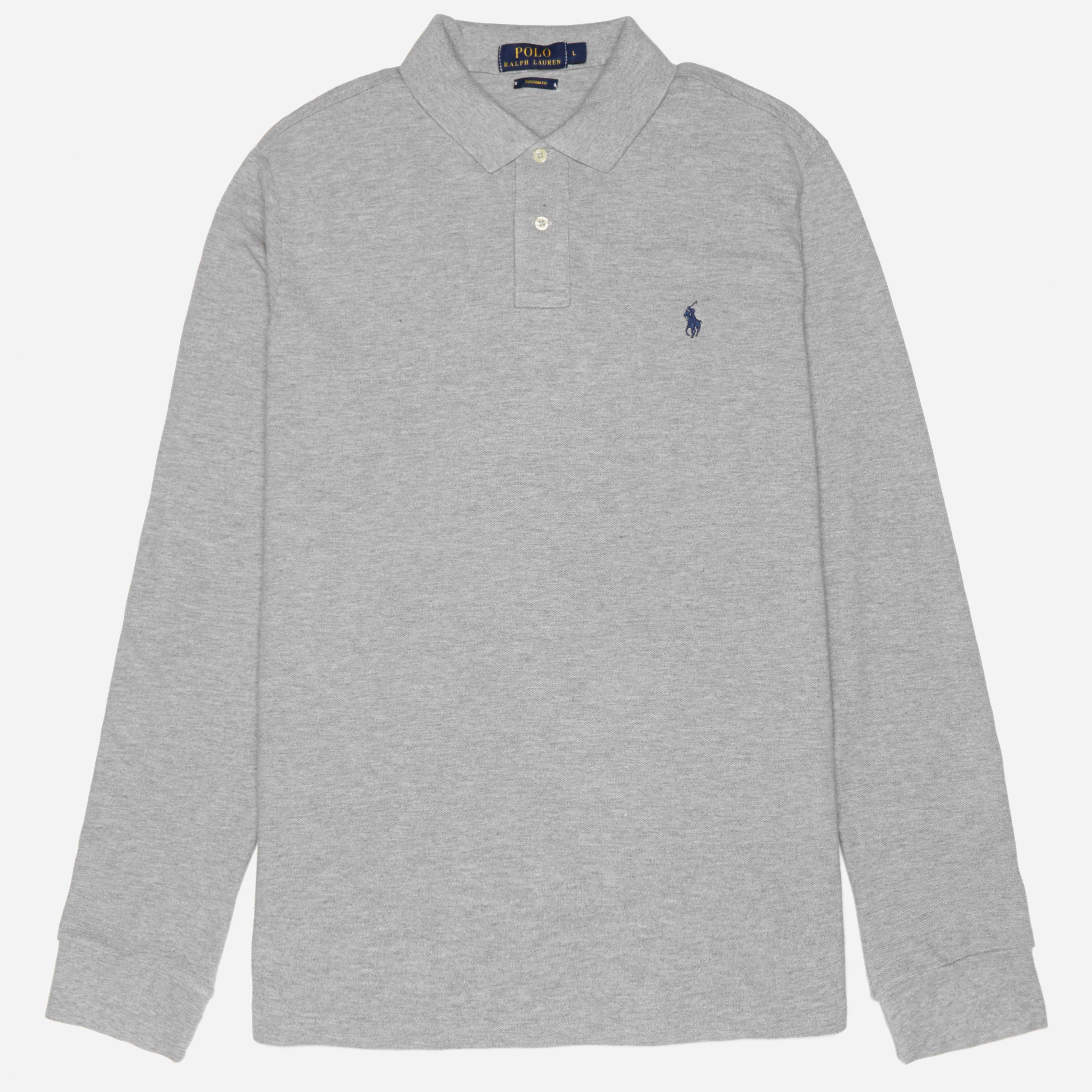 Polo Ralph Lauren Long Sleeve Custom Fit Polo Andover