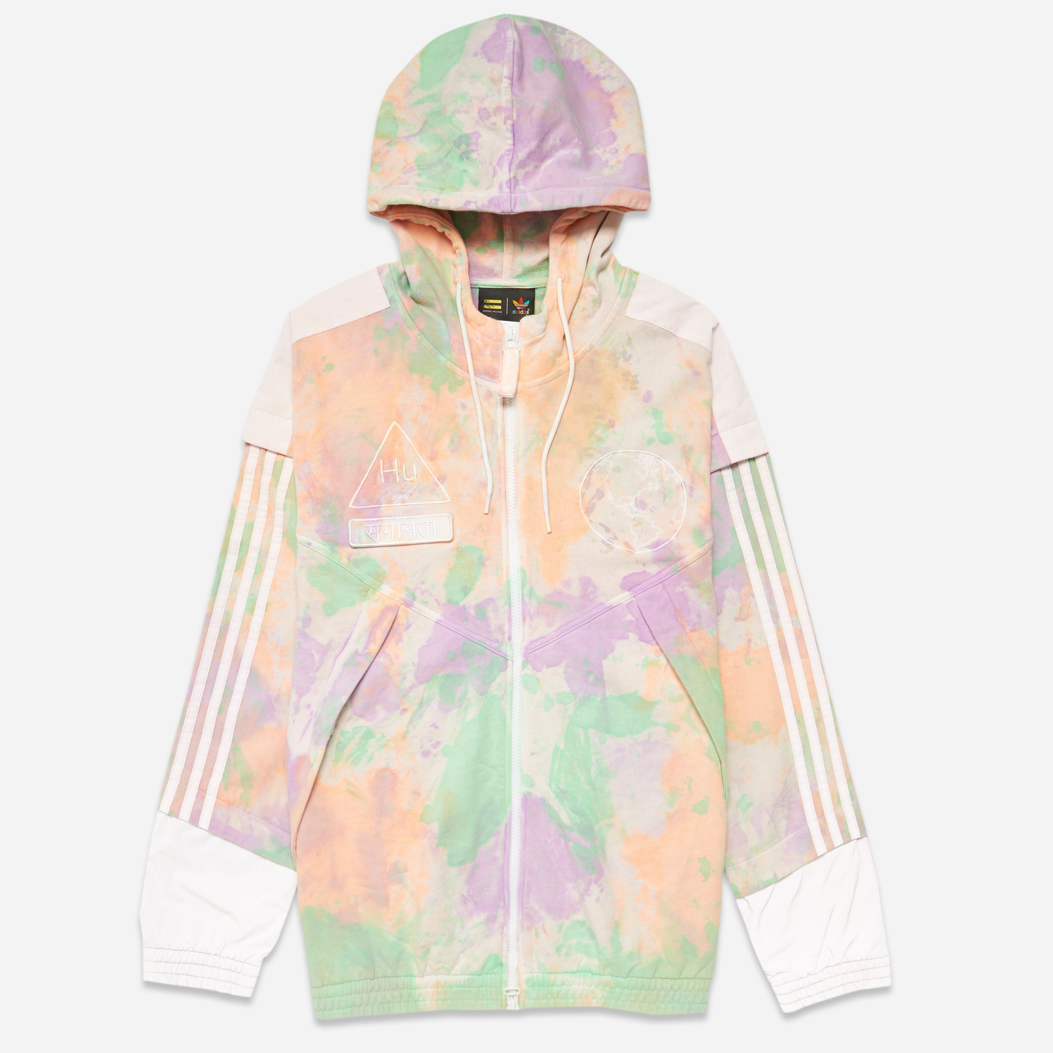 adidas Originals x Pharrell HU Holi Windbreaker