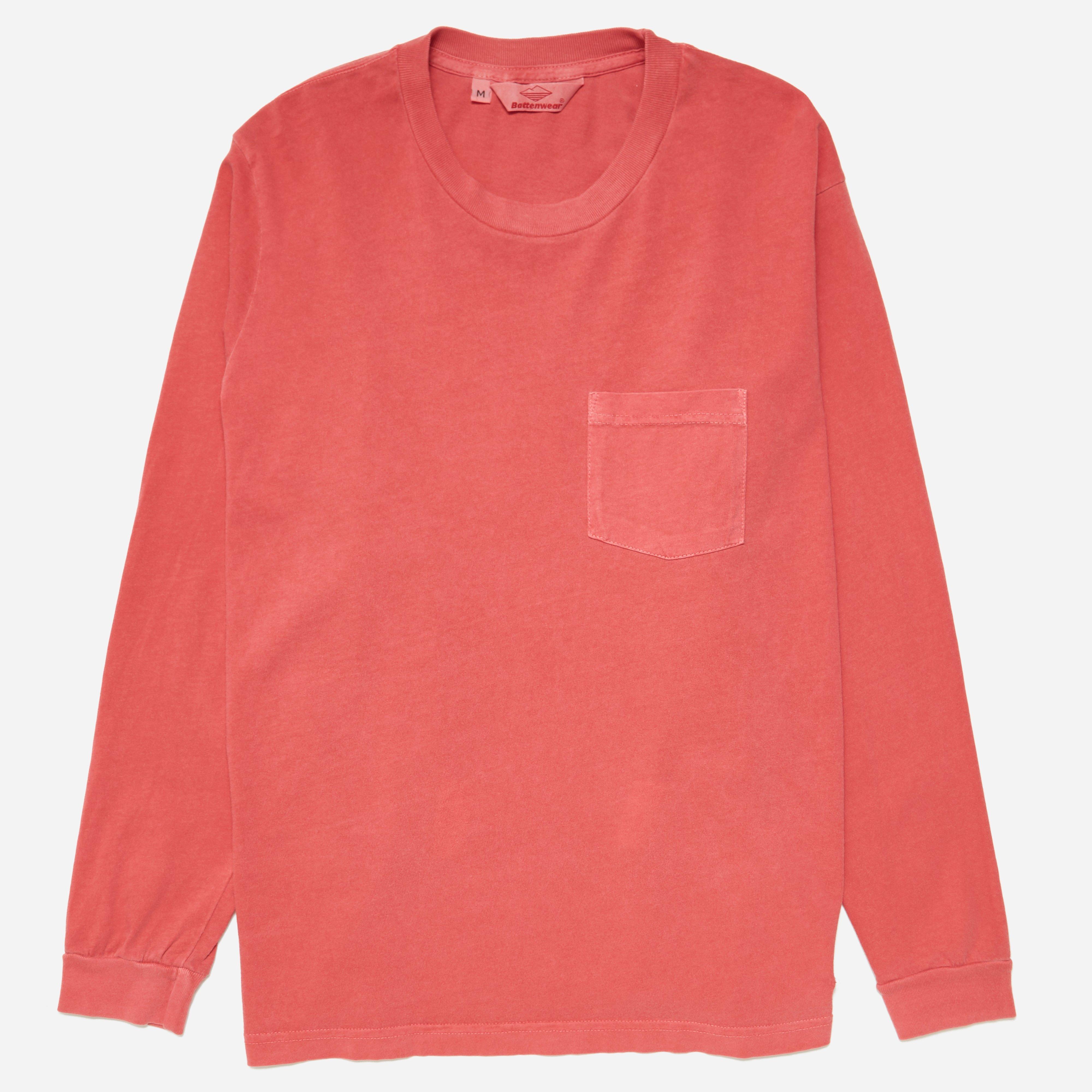 Battenwear Long Sleeve Pocket T-shirt