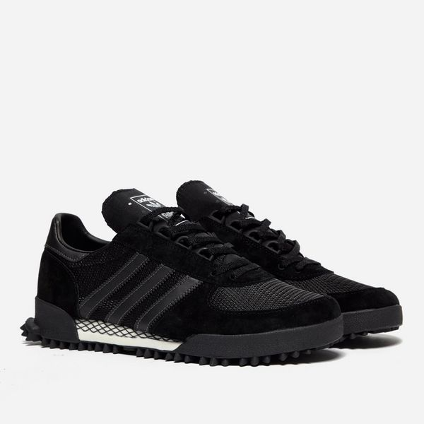 Marathon Tr Mesh, Suede And Leather Sneakers - Blackadidas Originals