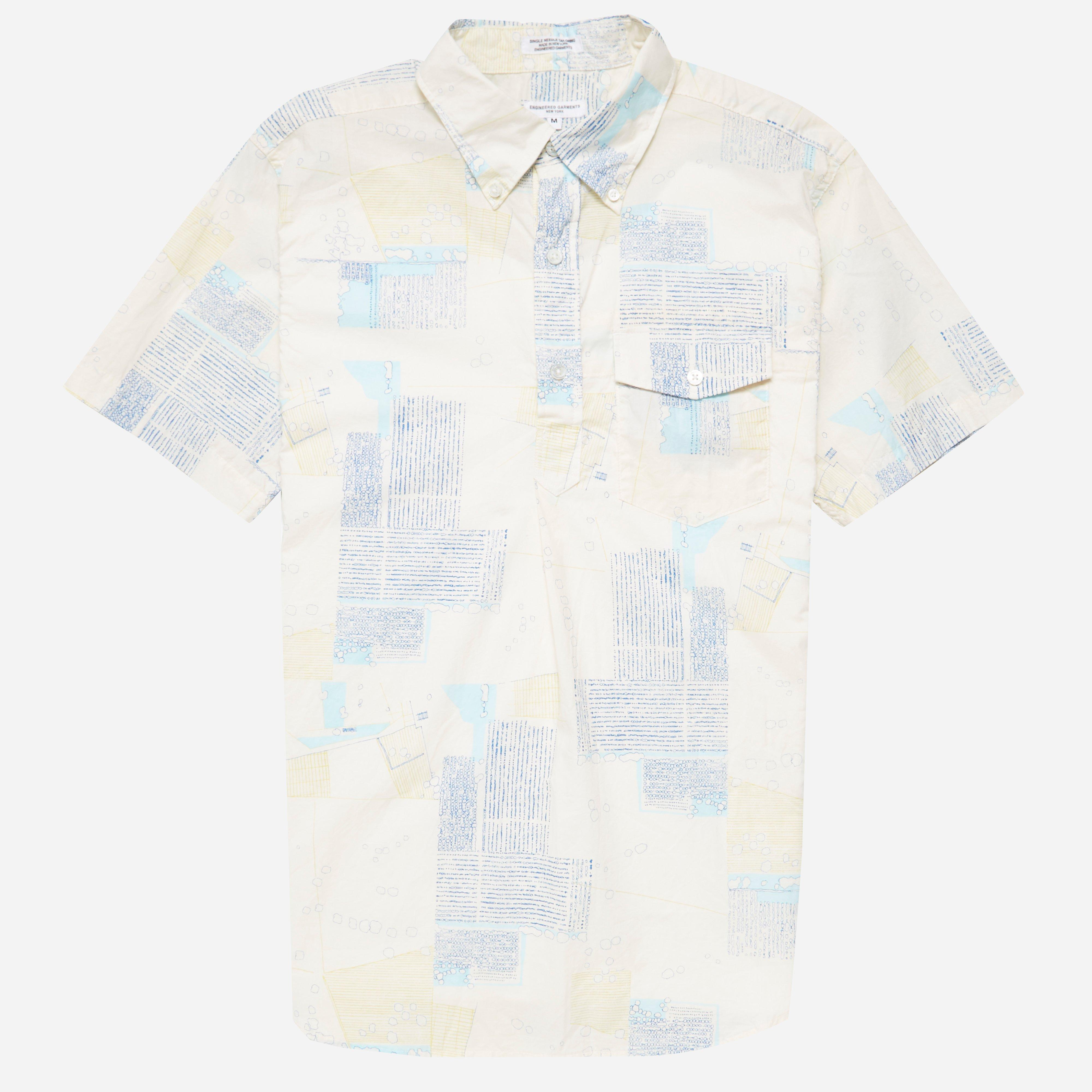 Engineered Garments Popover BD Abstract Shirt