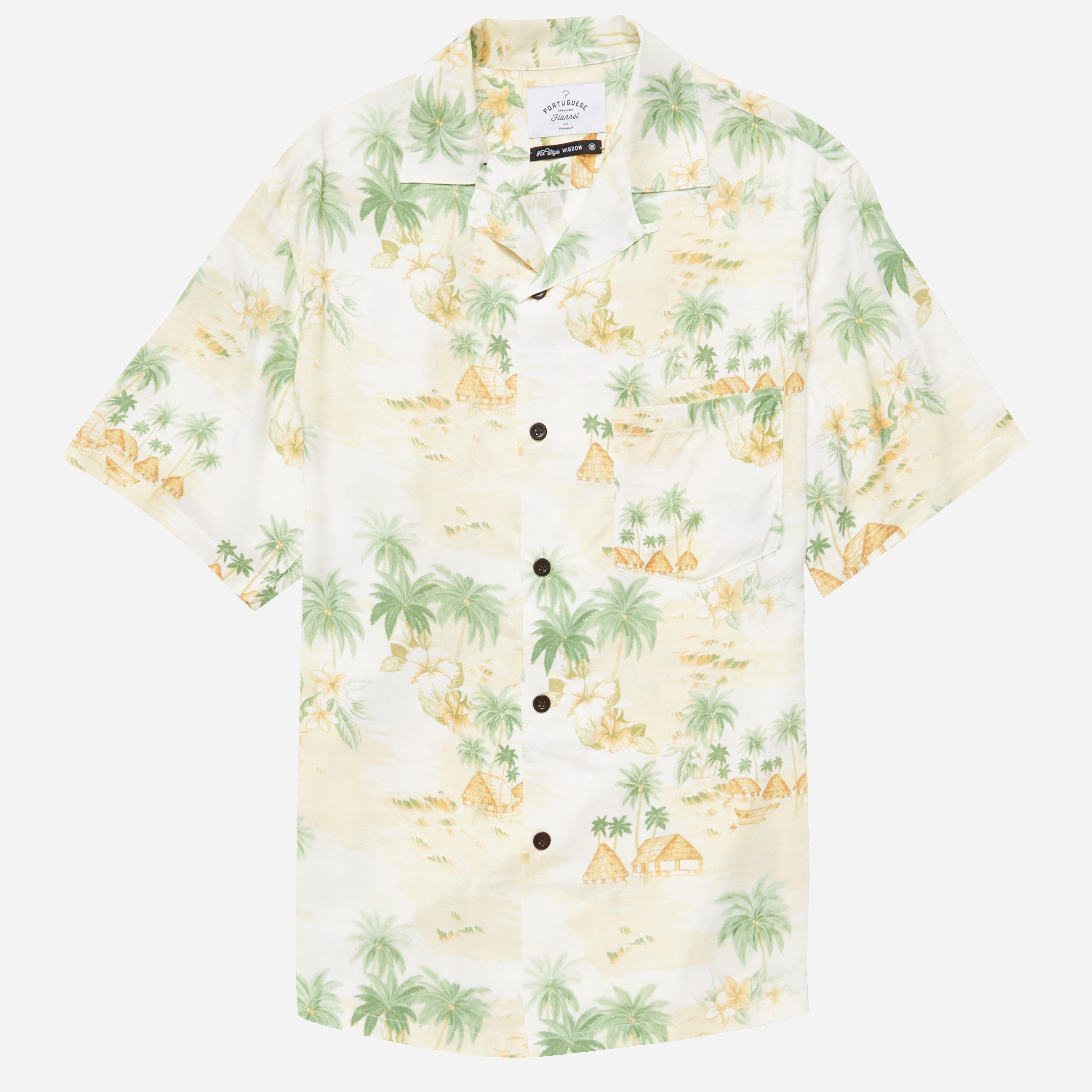 Portuguese Flannel Polinesia Shirt