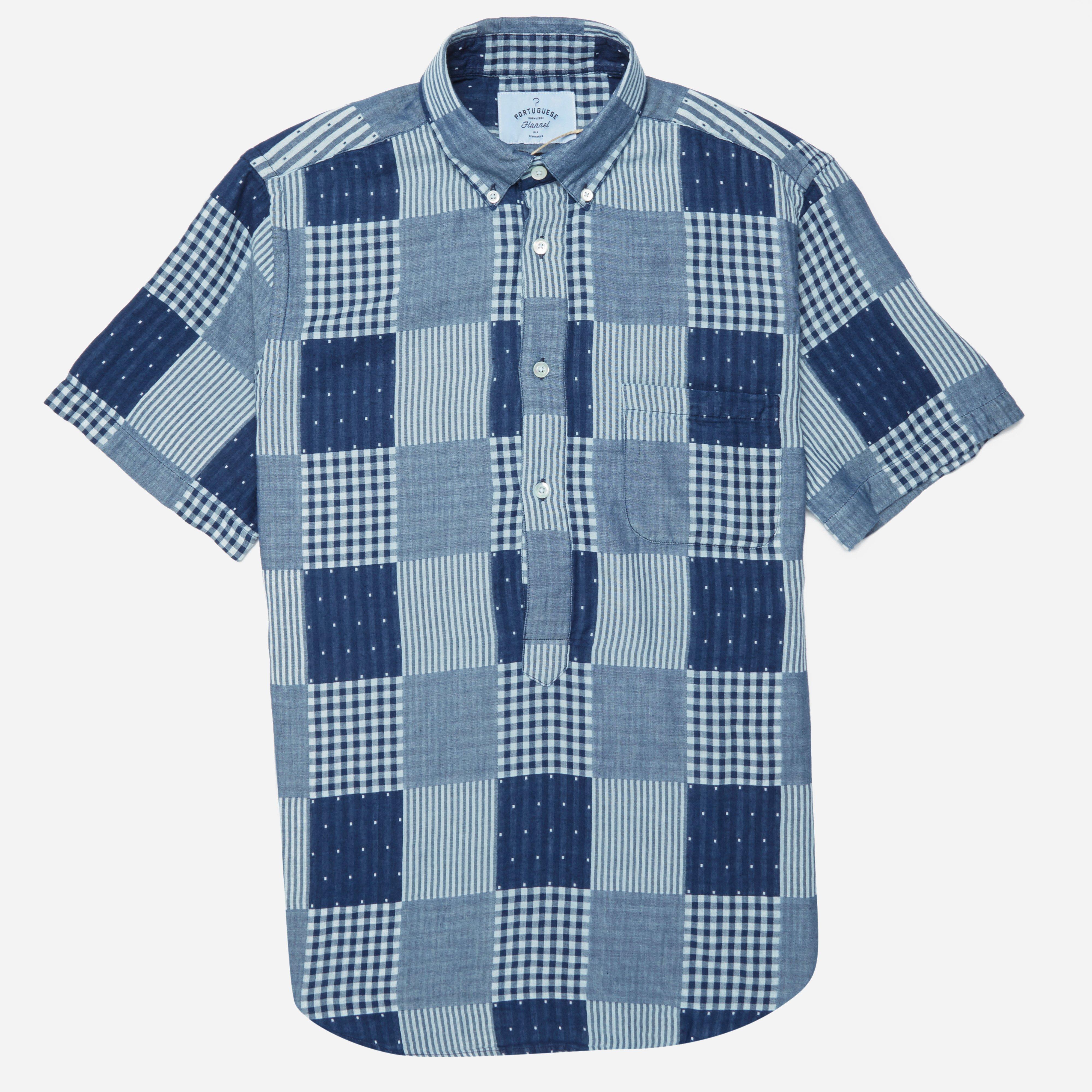 Portuguese Flannel Remendo Shirt