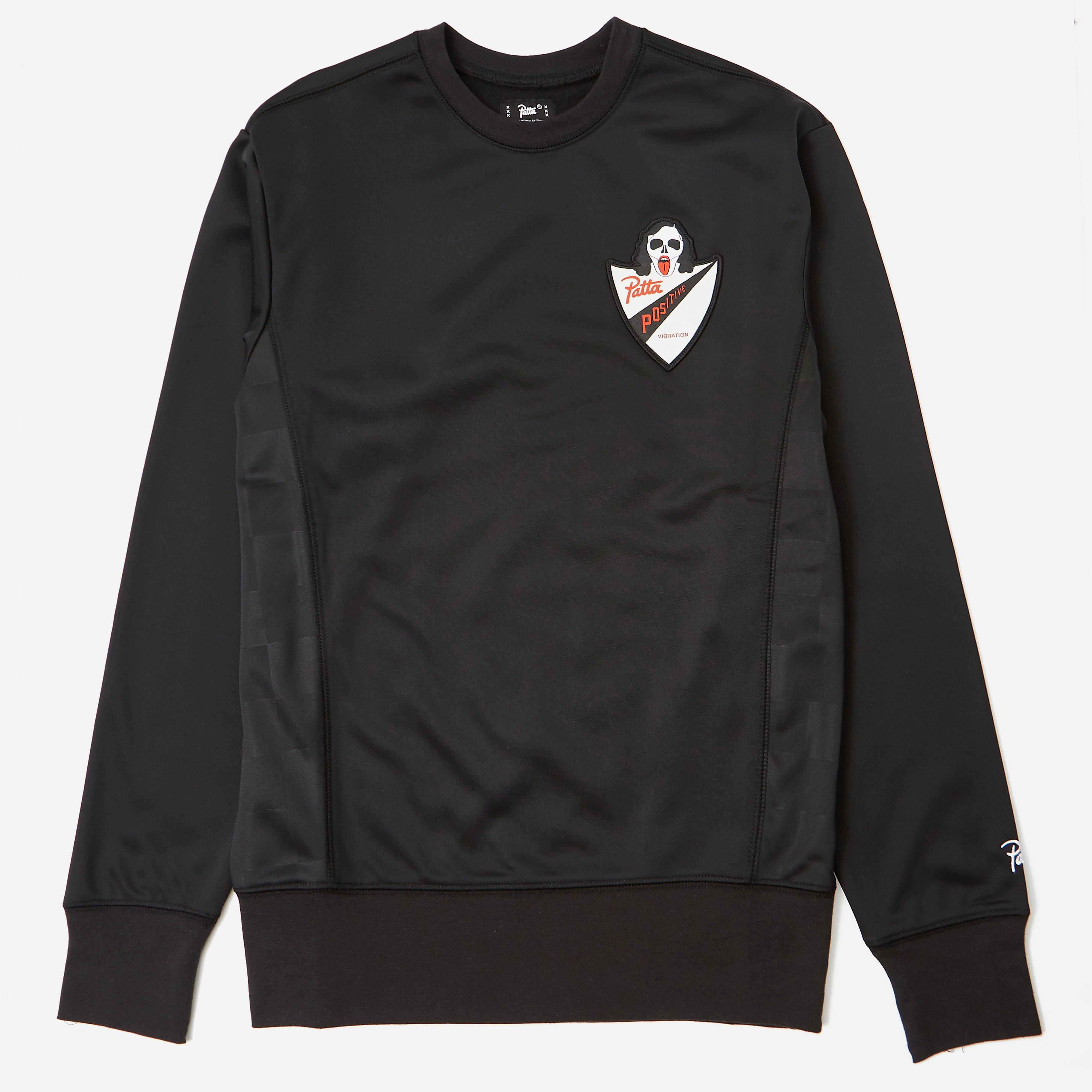 Patta Script Logo Warm Up Sweatshirt