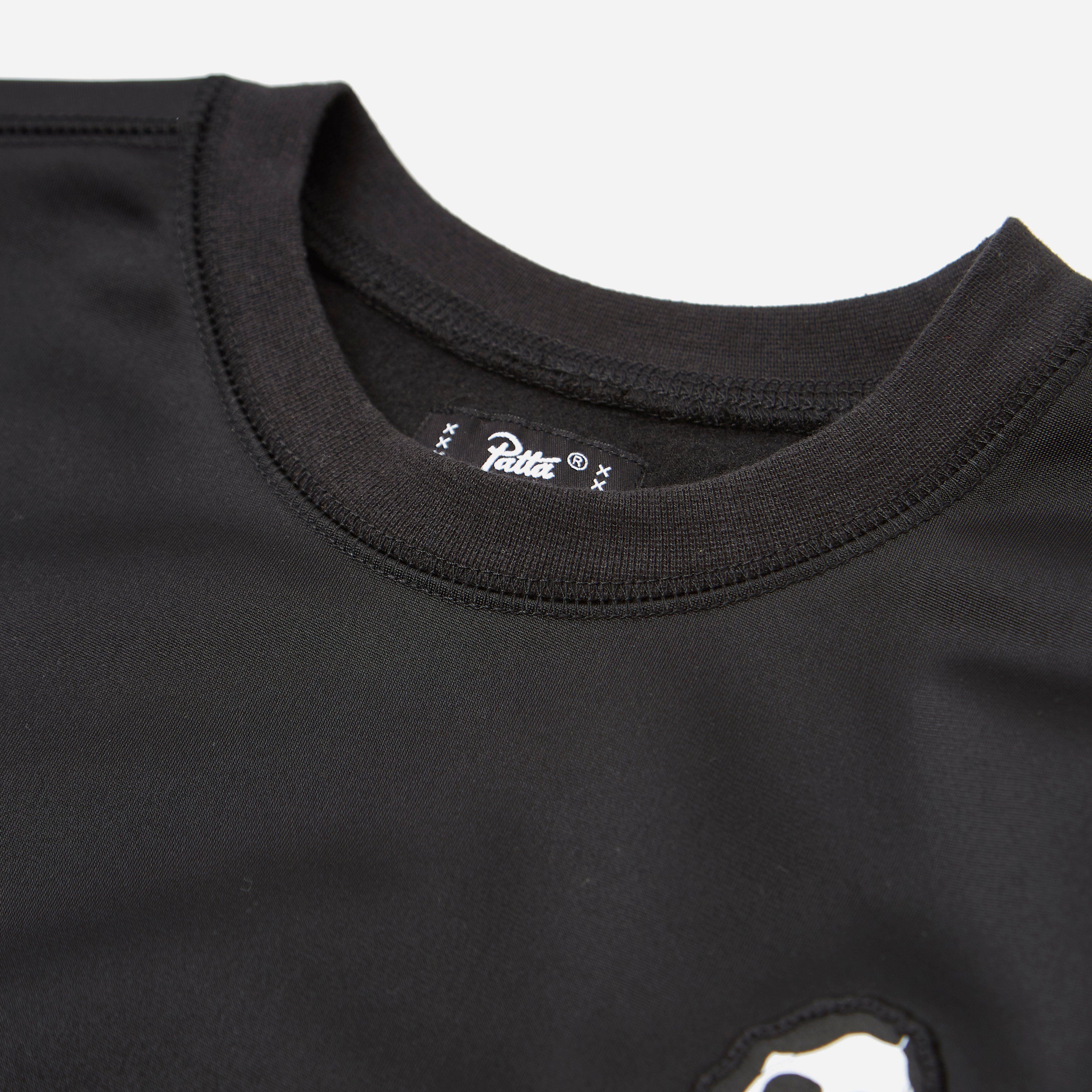 Patta Script Logo Warm Up Sweatshirt