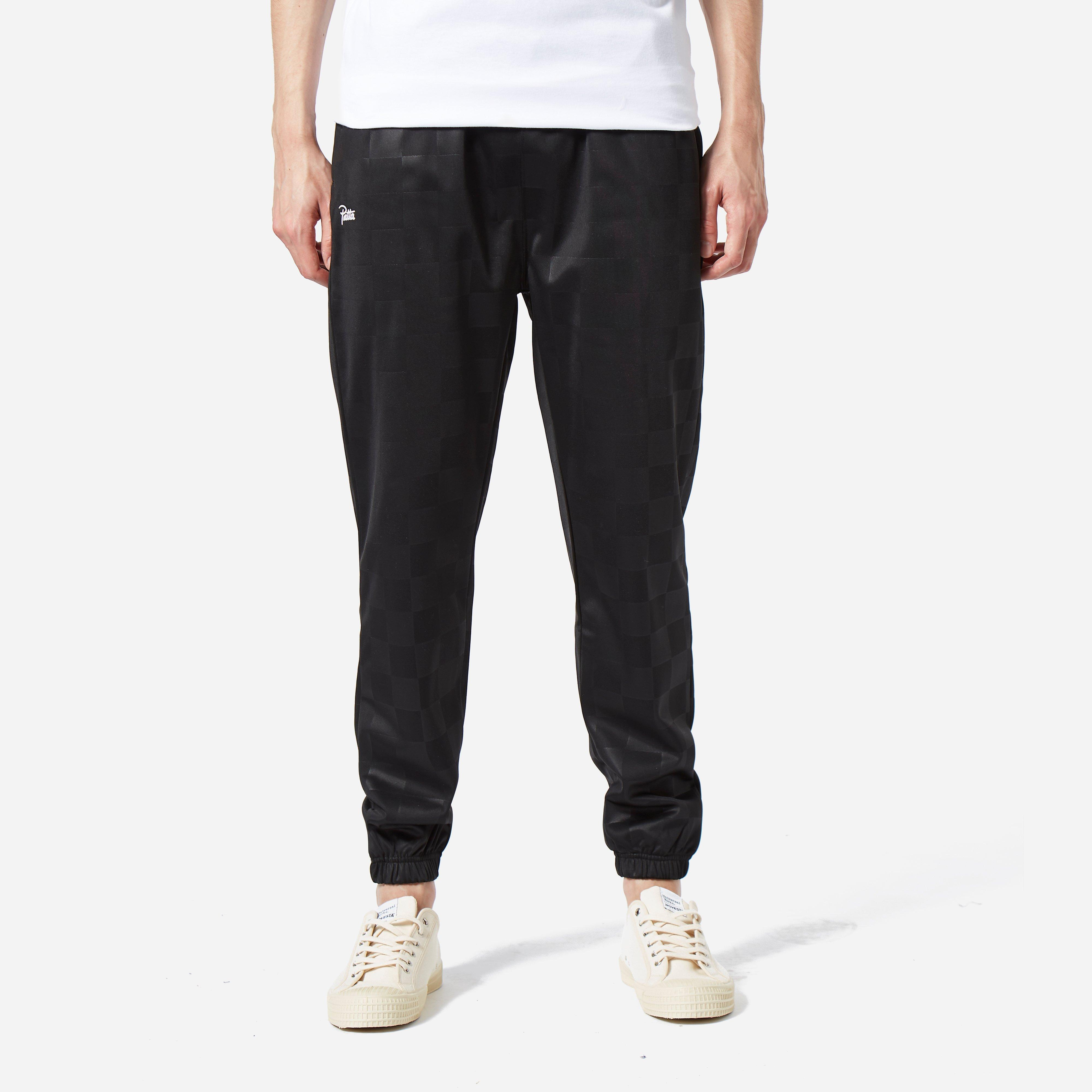 Patta Checkered Warm Up Jogger