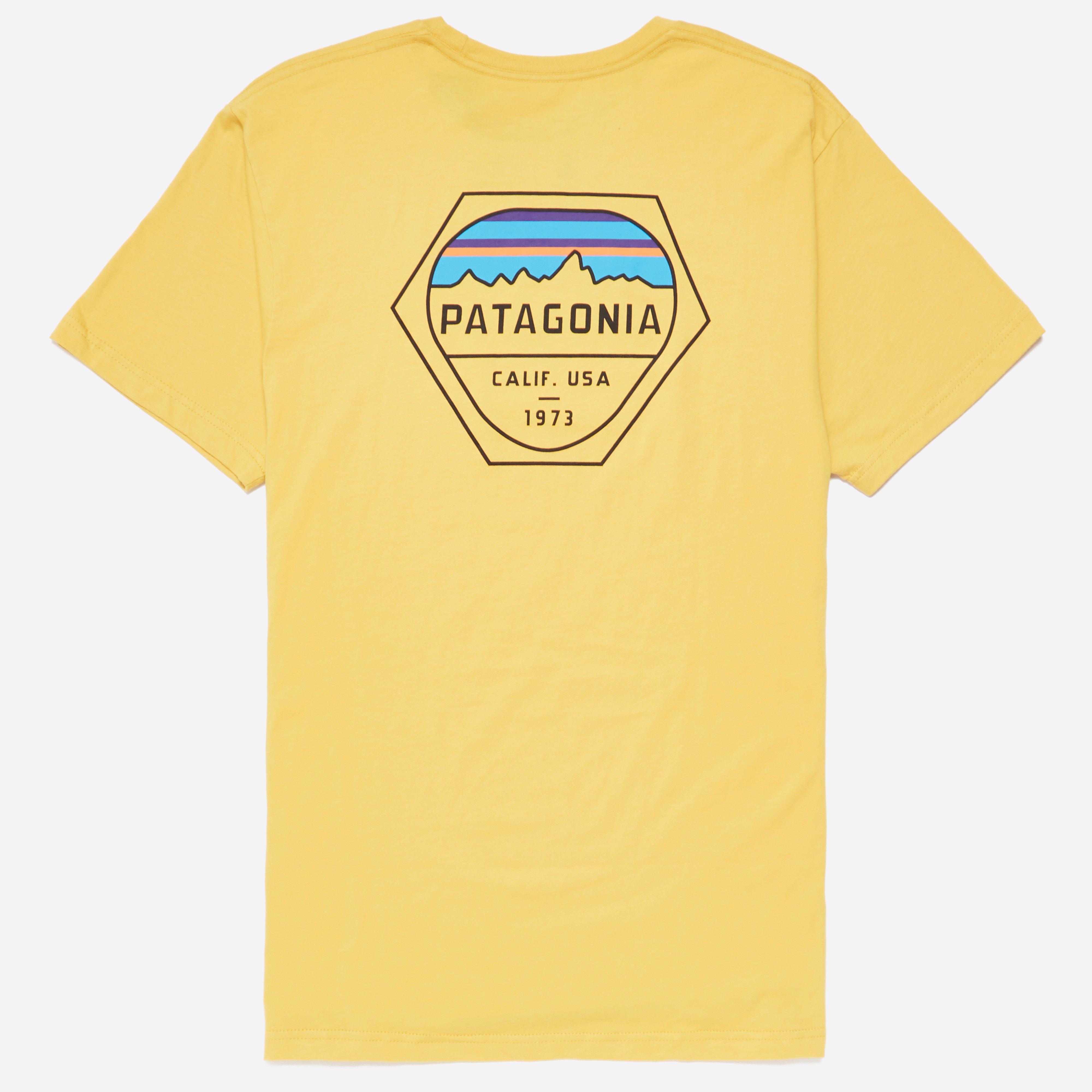 Patagonia Fitz Roy Hex Organic Pocket T-shirt
