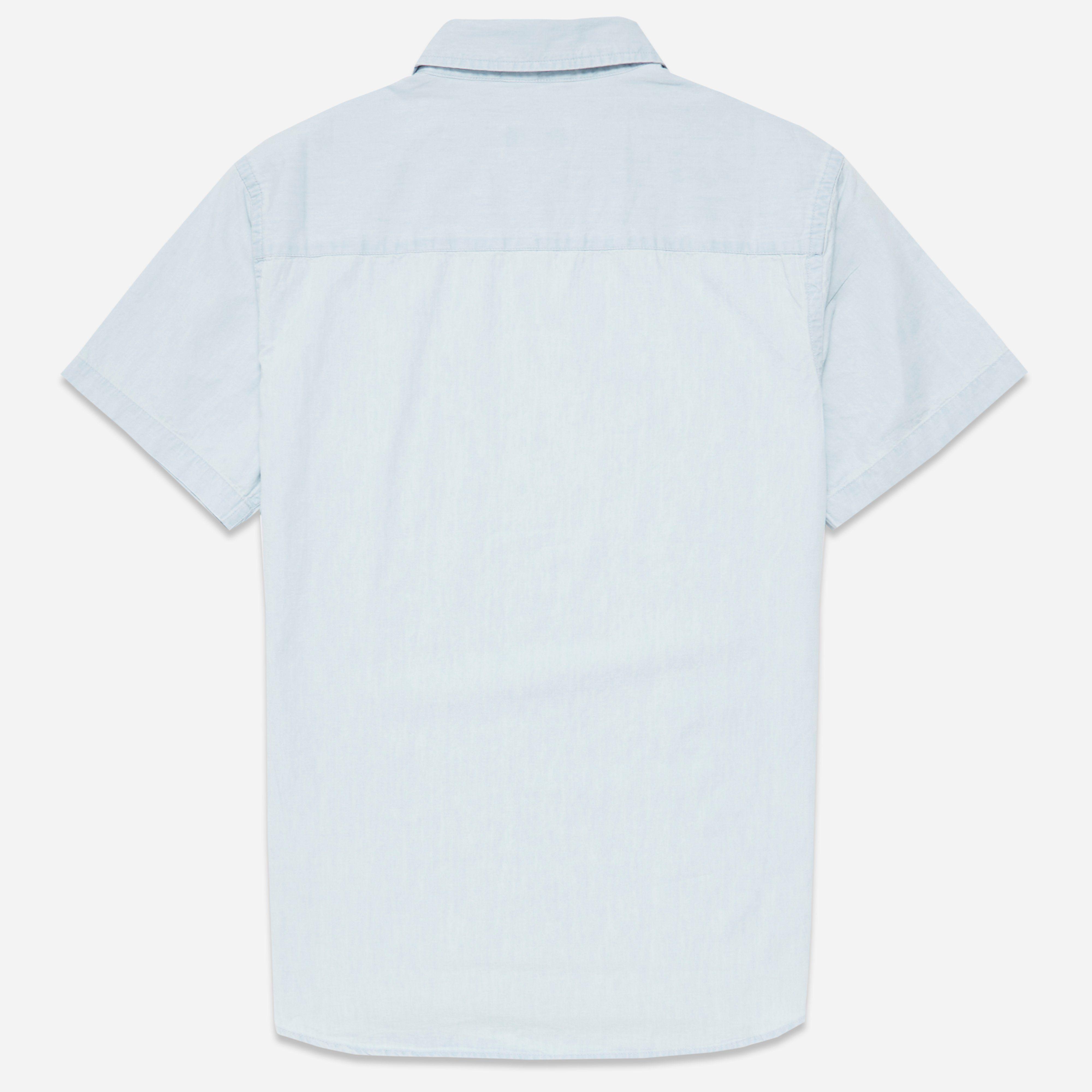 Saturdays NYC Esquina Denim Short Sleeve Shirt