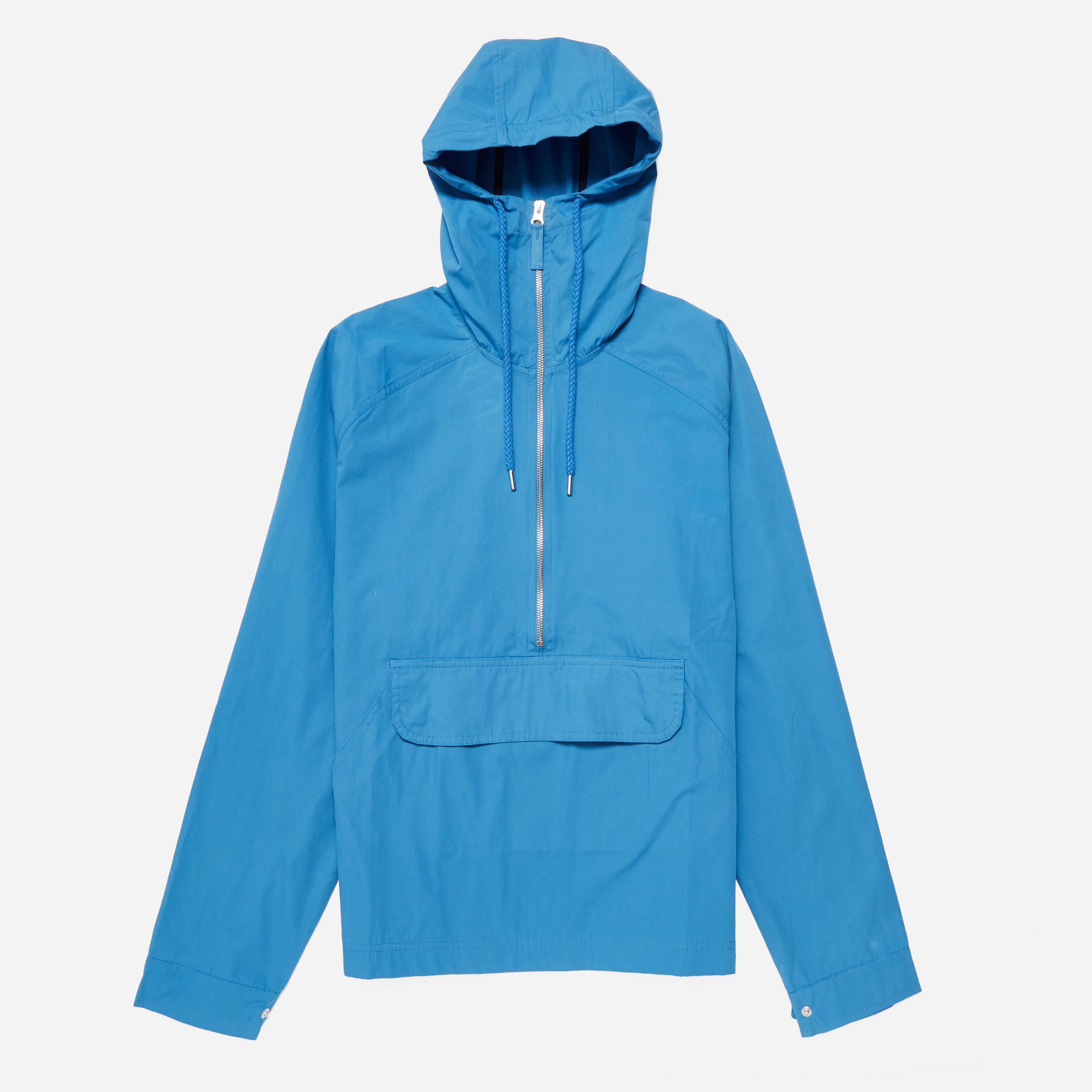Pop Trading Company Drs Hooded Half Zip Jacket