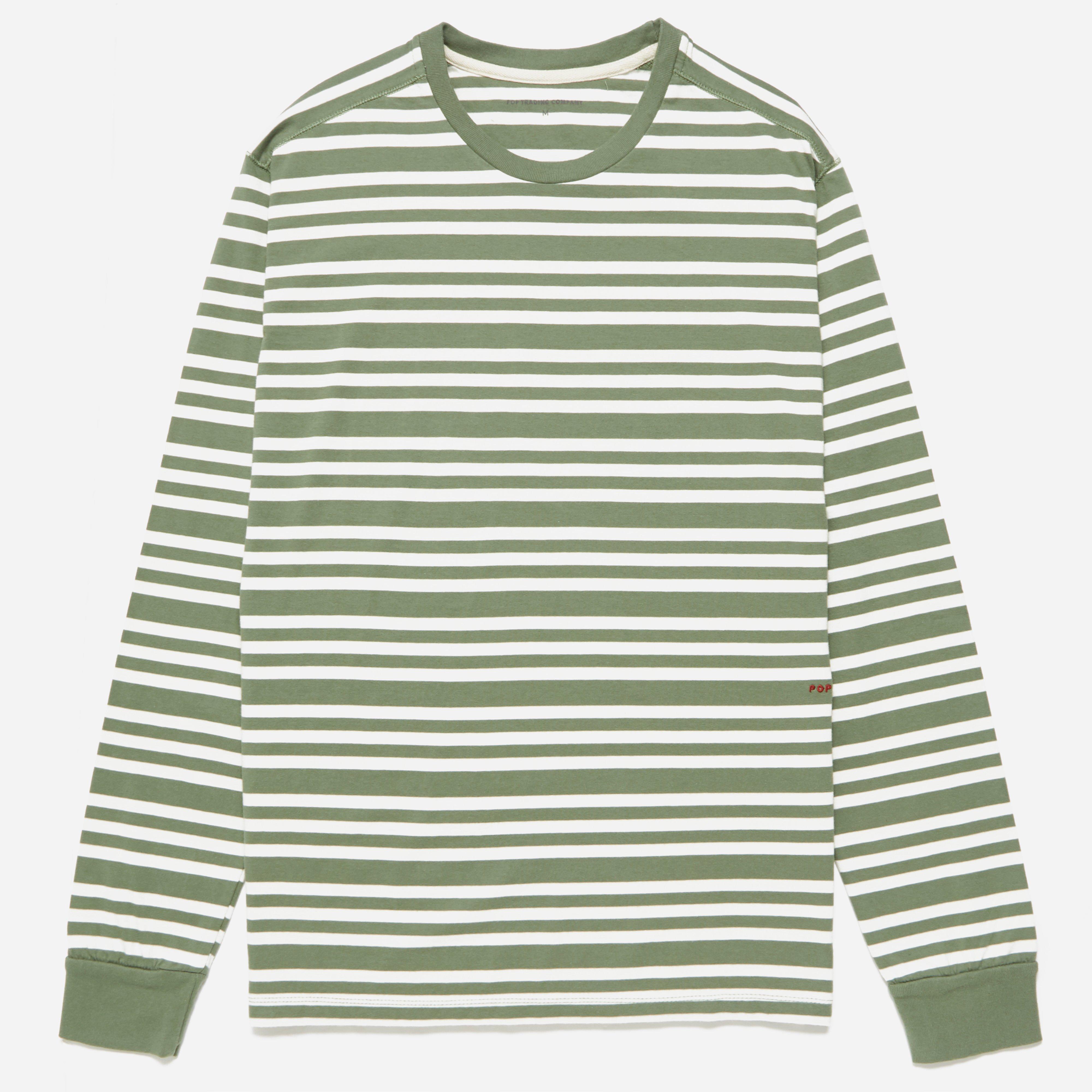 Pop Trading Company Triple Stripe Long Sleeve T-shirt