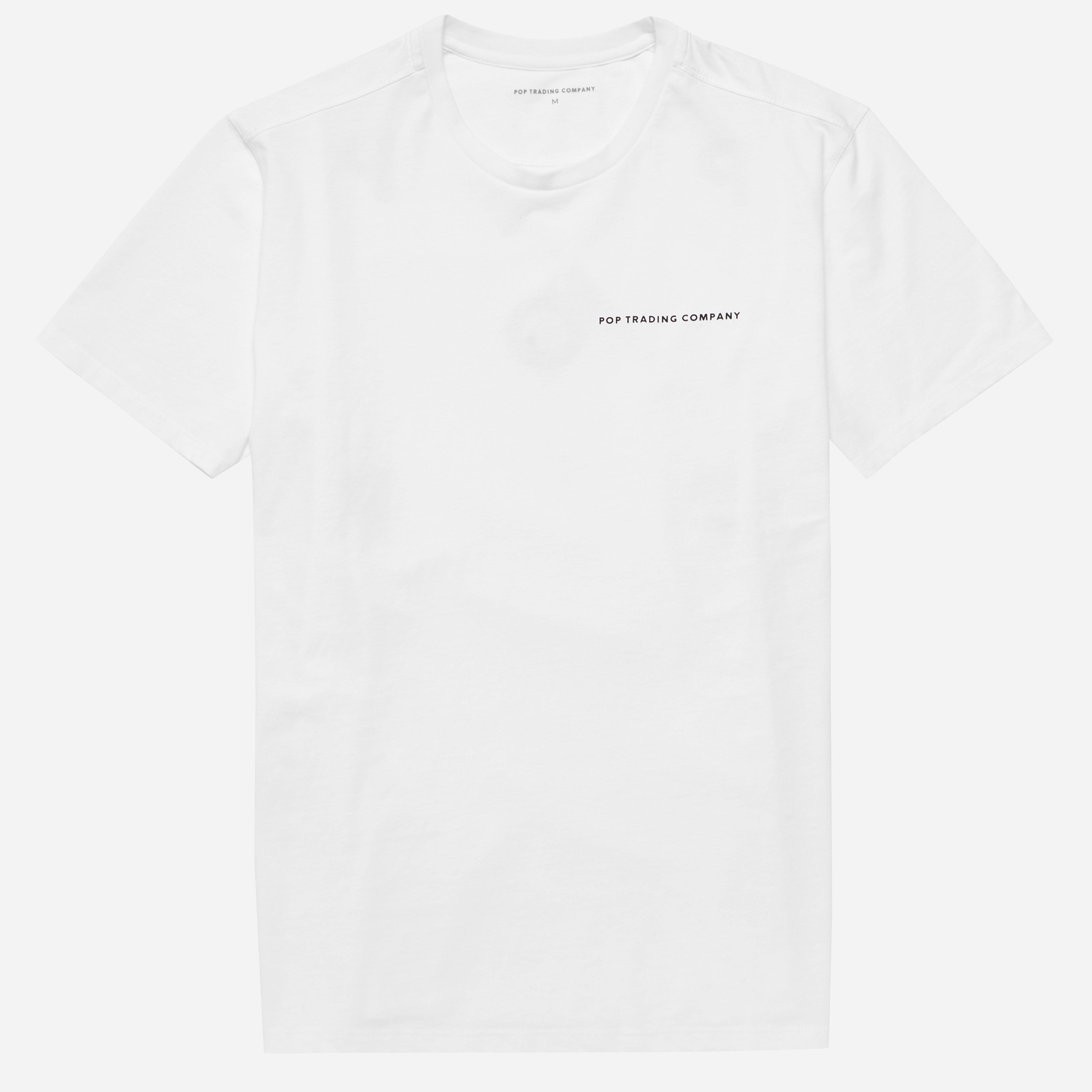 Pop Trading Company Olive T-shirt
