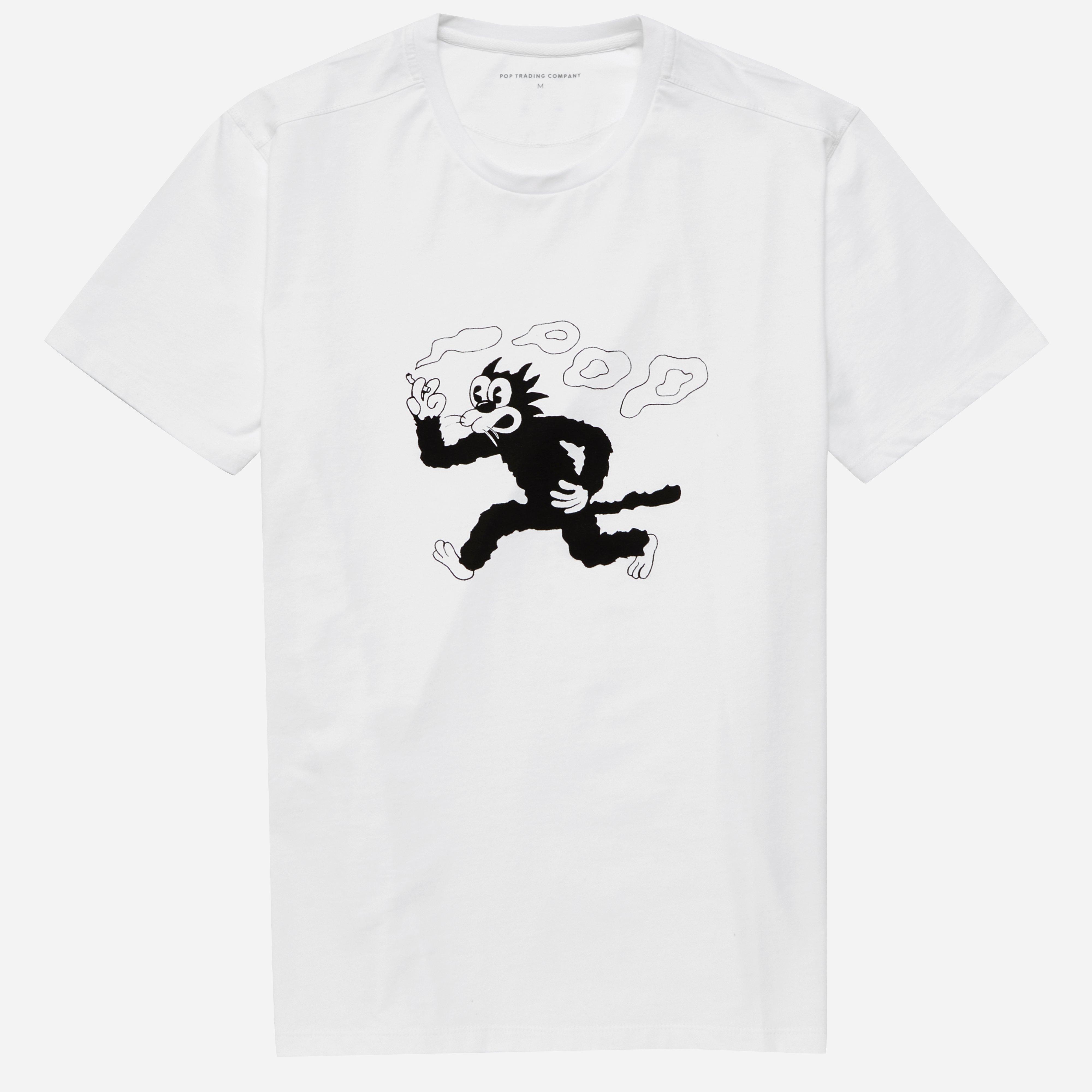 Pop Trading Company Malvin The Cat T-shirt