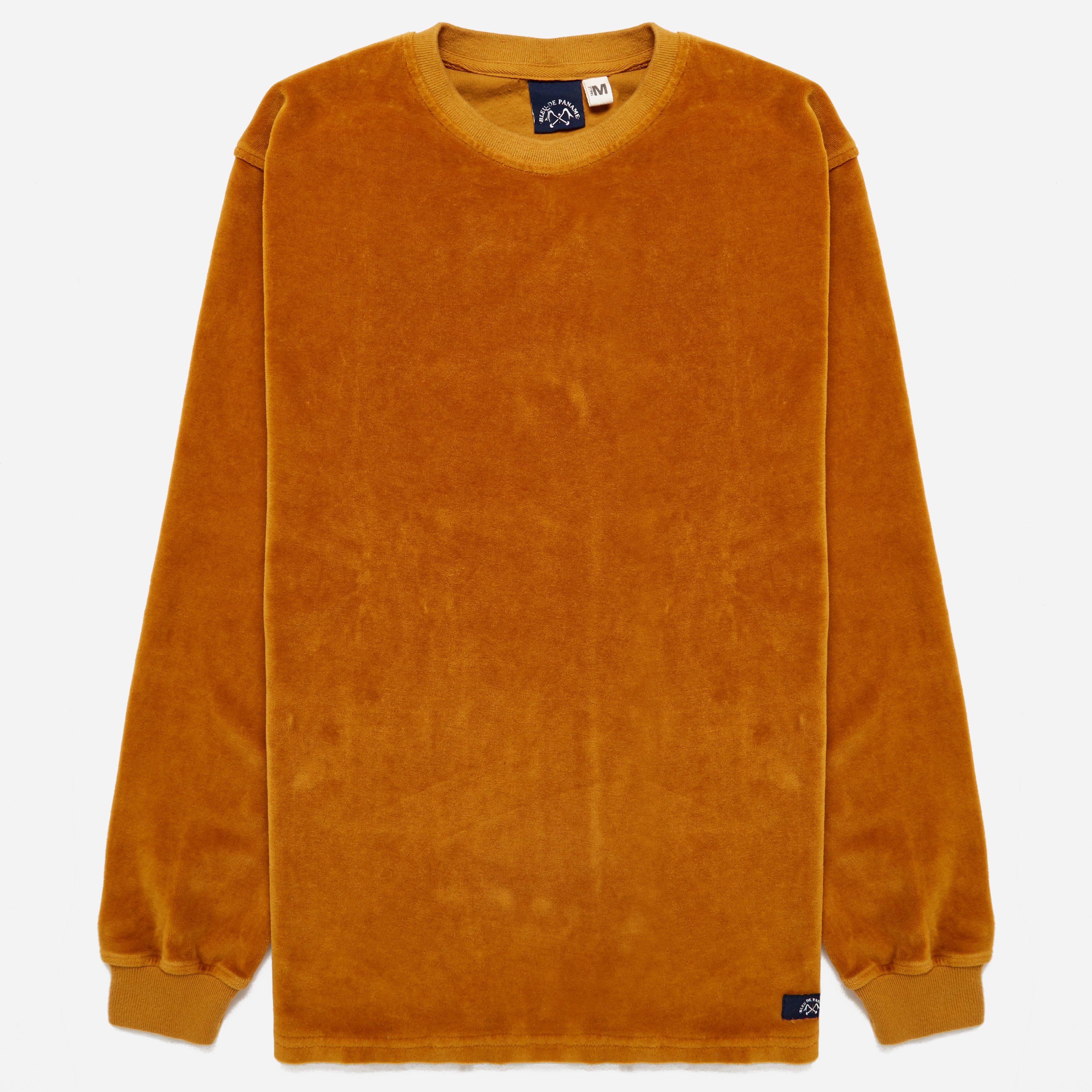 Bleu De Paname Peau De Peche Sweatshirt