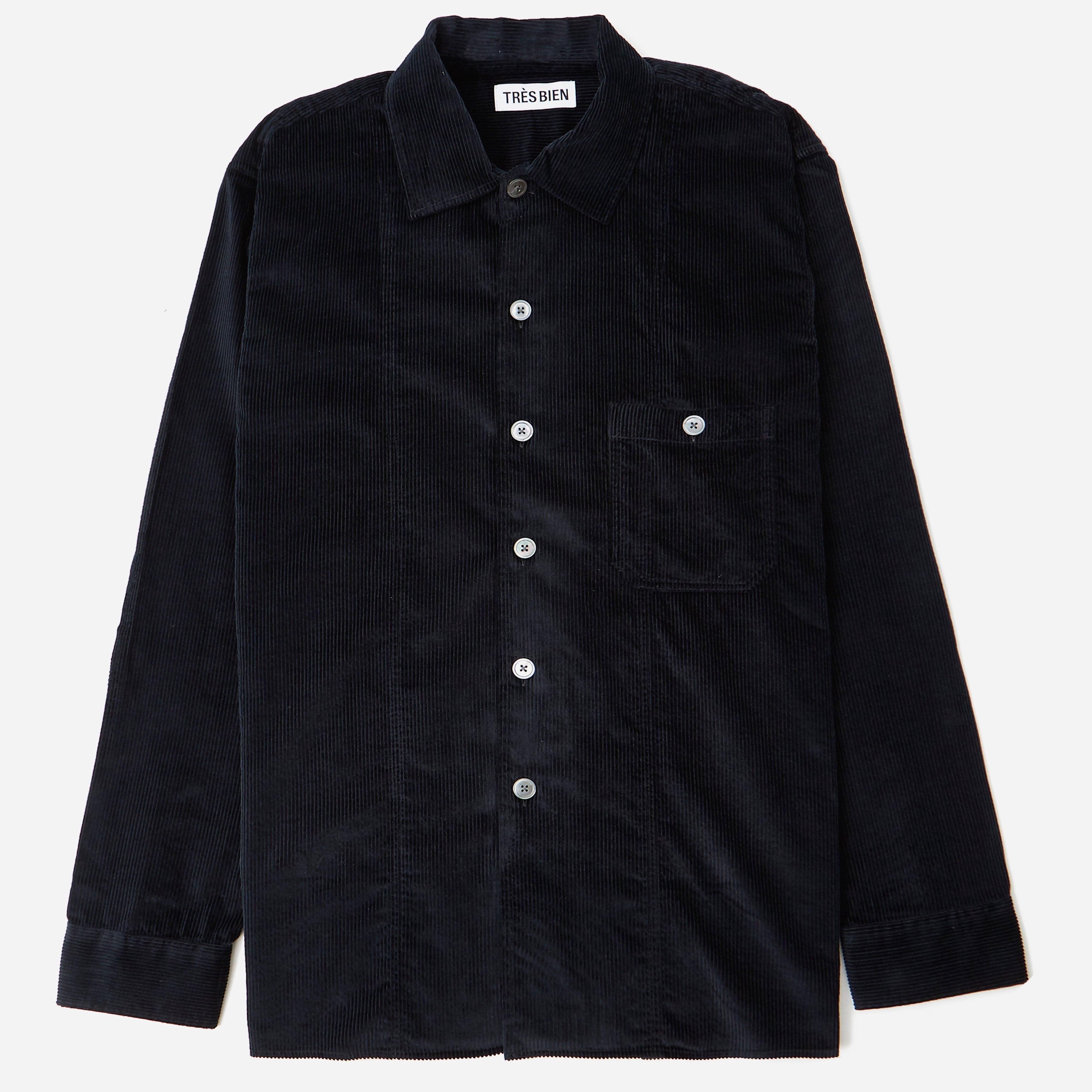 Tres Bien Soft Cord Tunic Overshirt