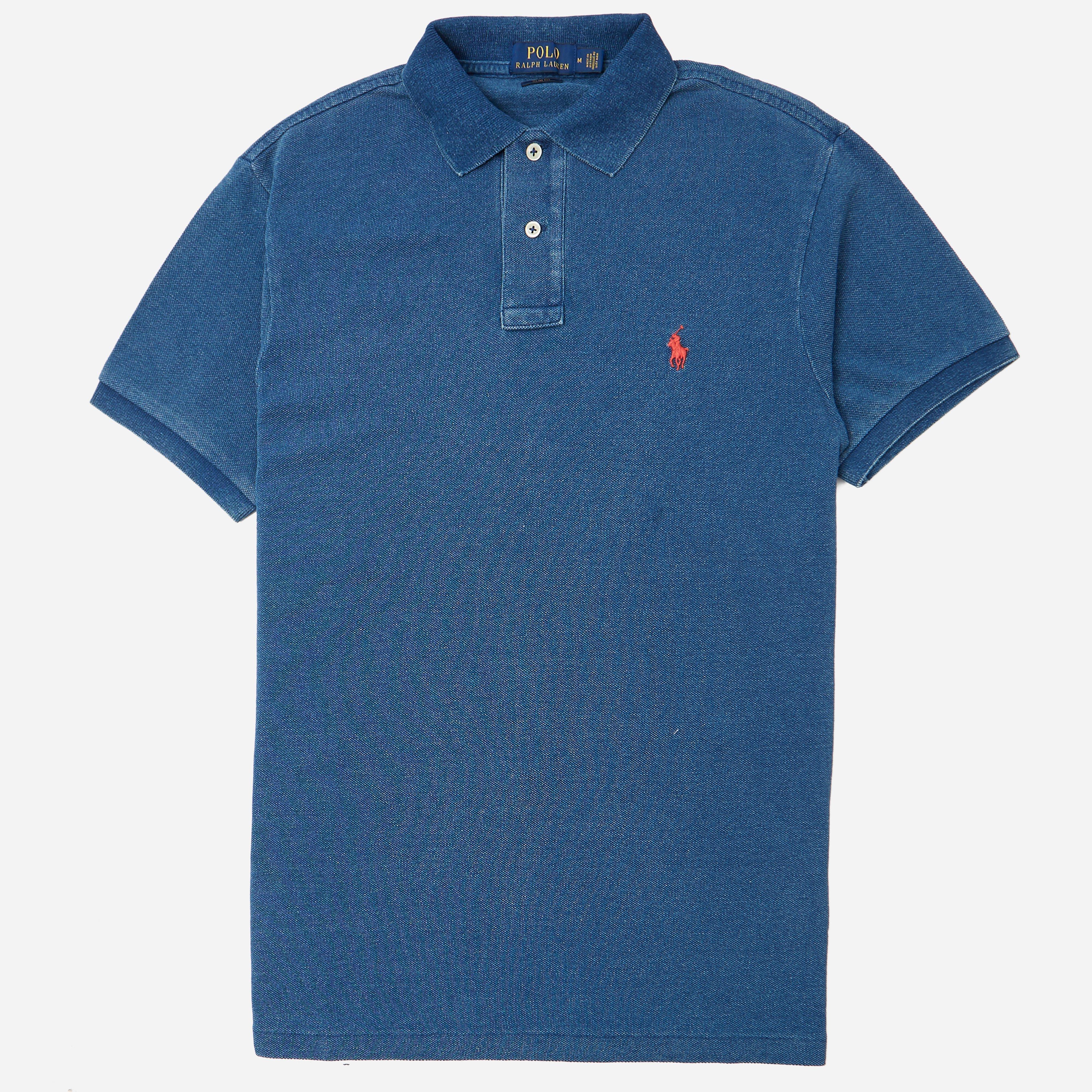 Polo Ralph Lauren Mesh Knitted Polo Shirt