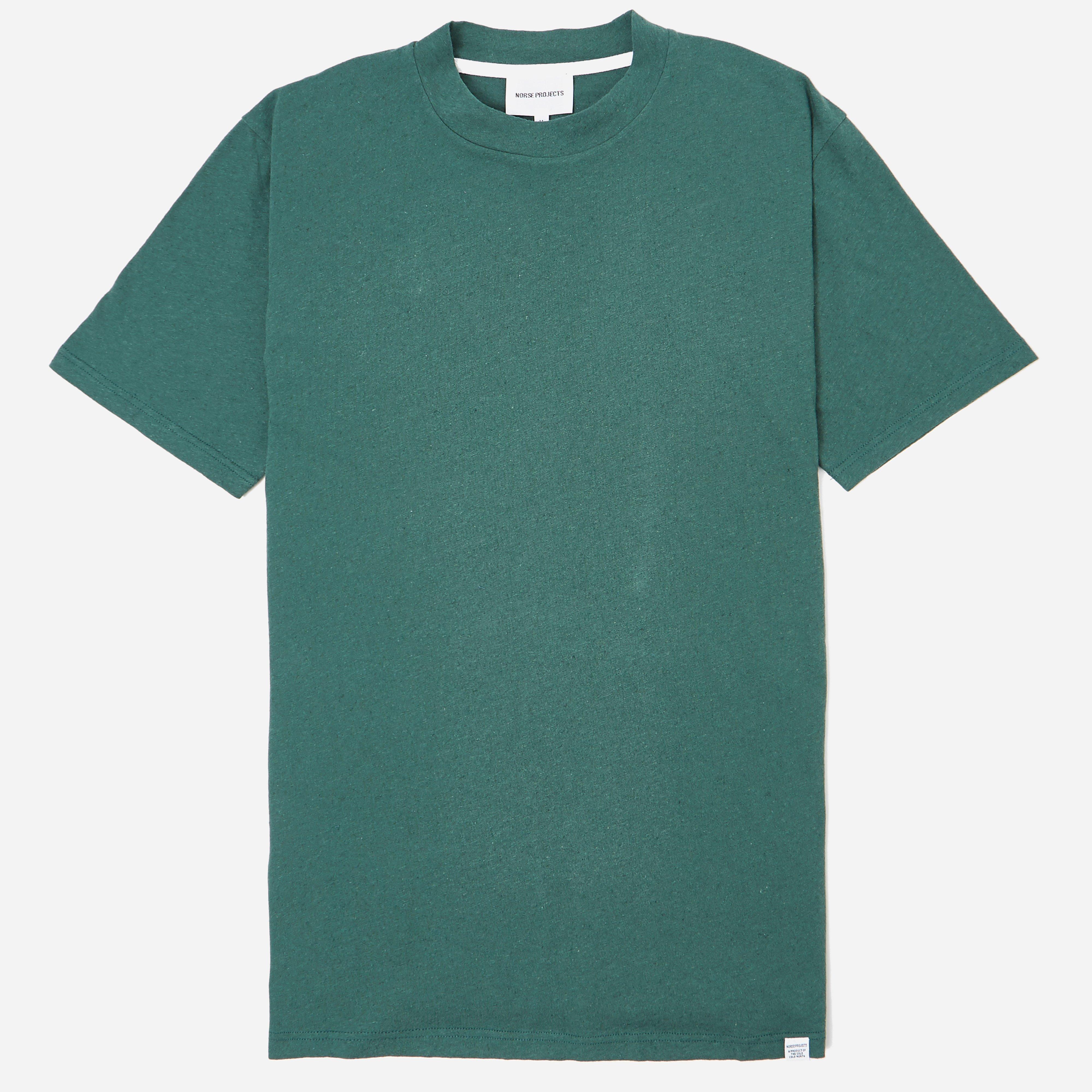 Norse Projects James Cotton Linnen T-shirt