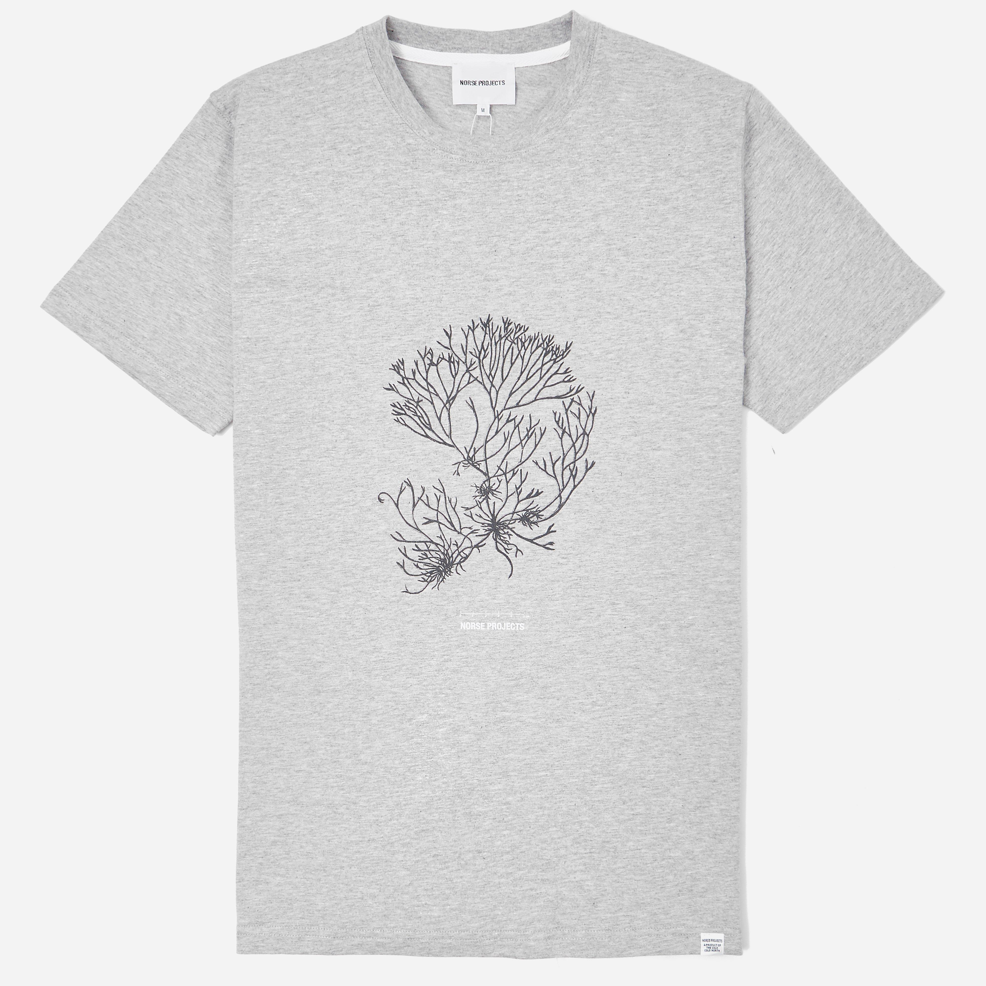 Norse Projects Niels Plant Logo T-shirt