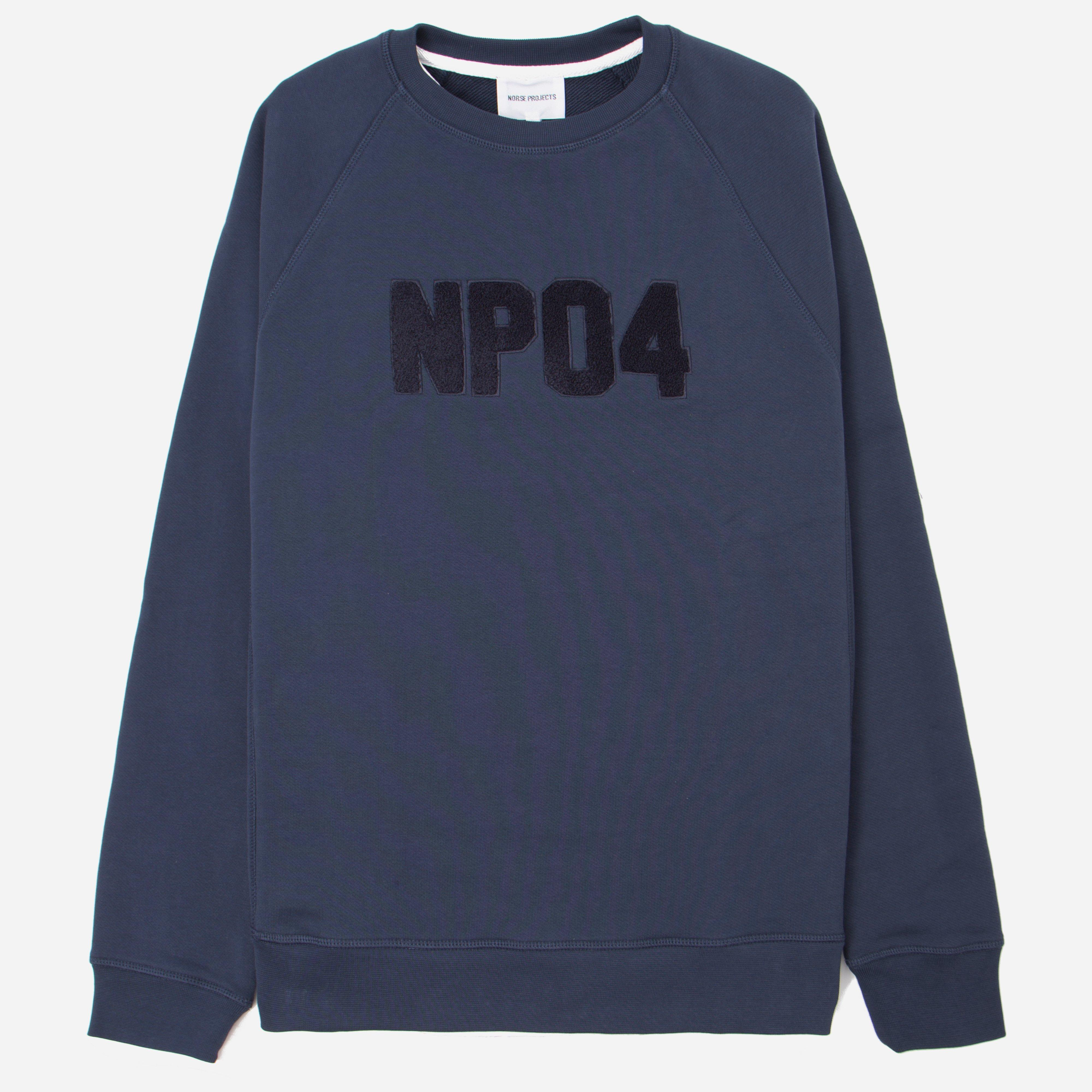 Norse Projects Ketel Classic Towelling Logo Sweatshirt