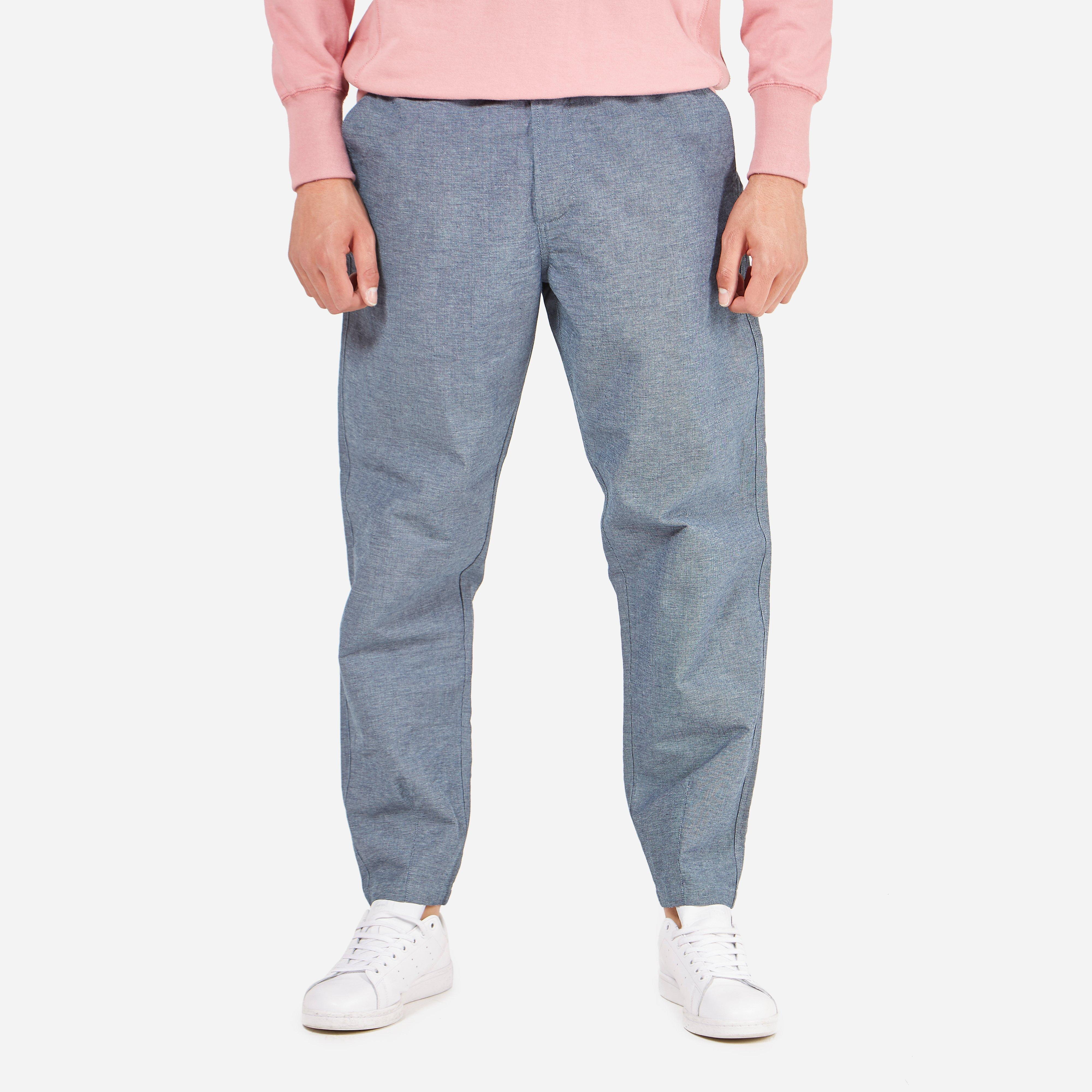 Universal Works Denim Birdseye Track Trouser