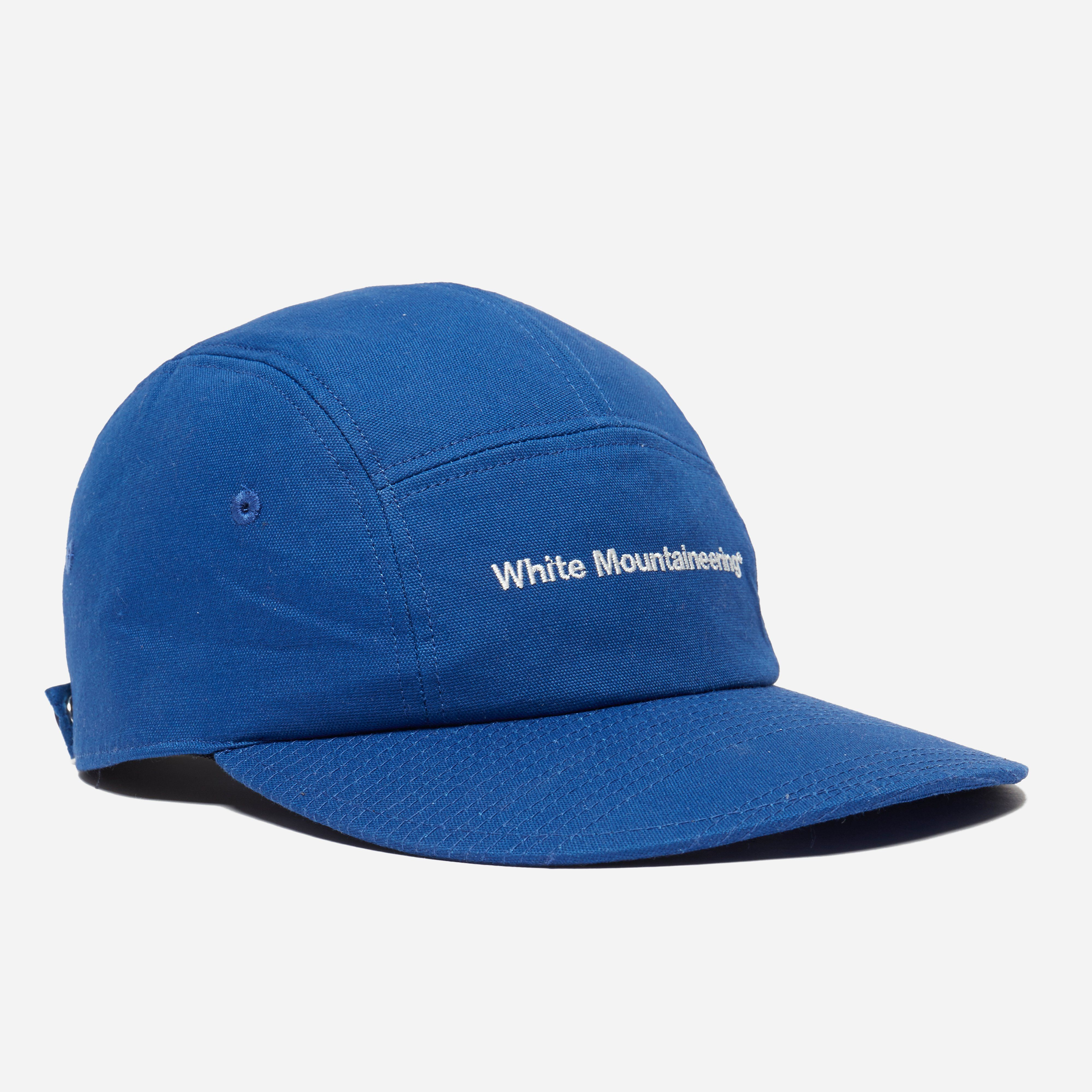 White Mountaineering Embroided Oxford Jet Cap