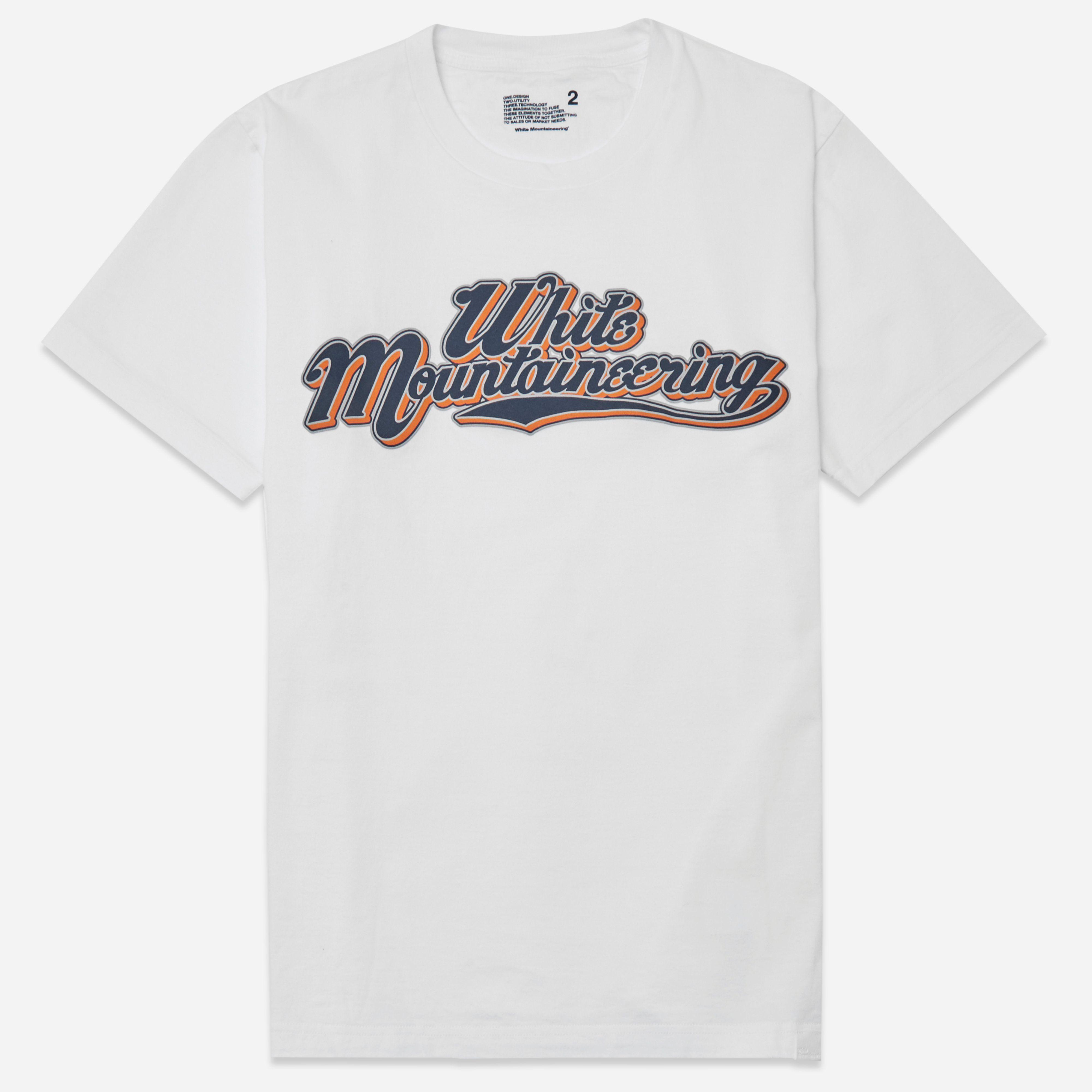 White Mountaineering Printed Team Mountaineering T-shirt