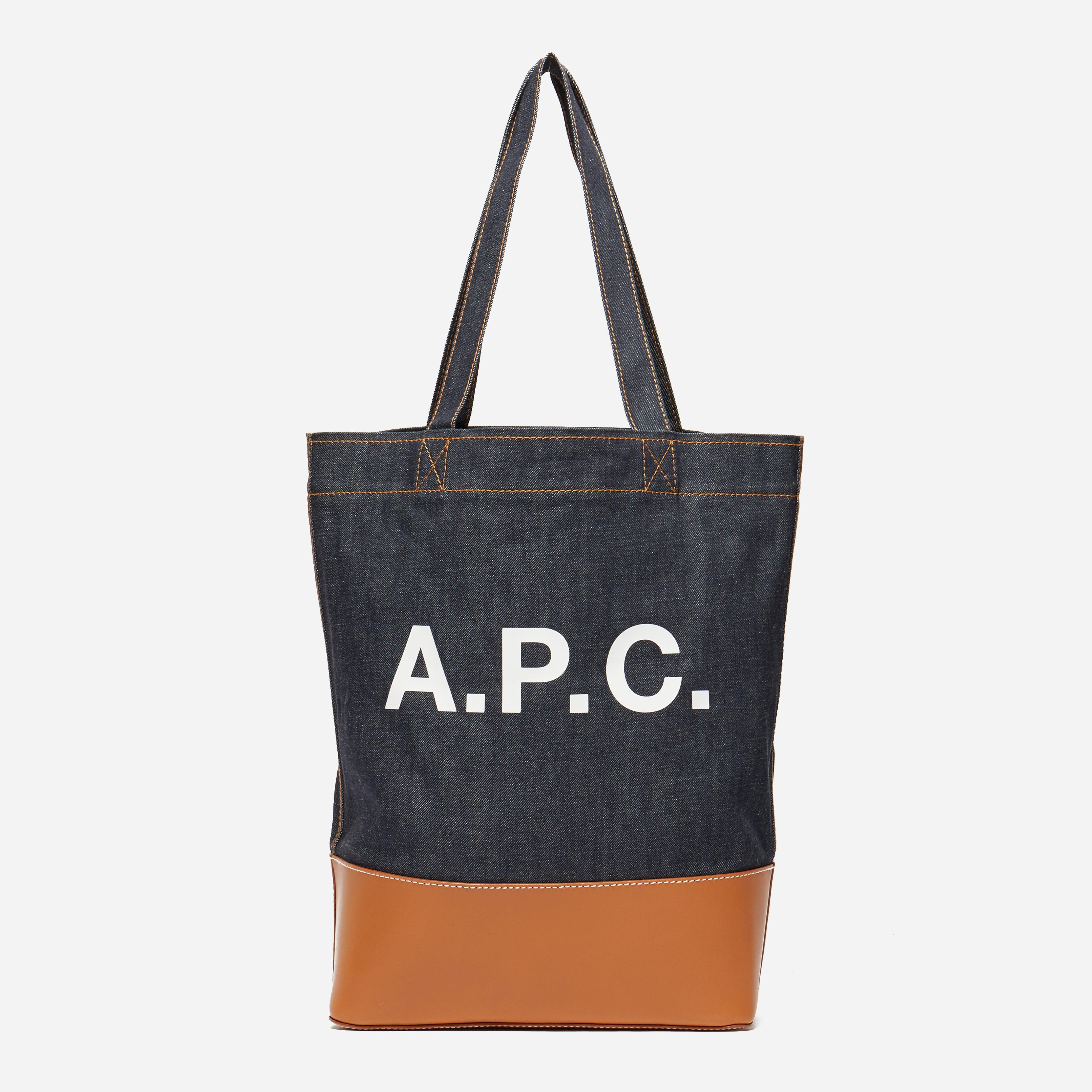 A.P.C. Denim Tote Bag
