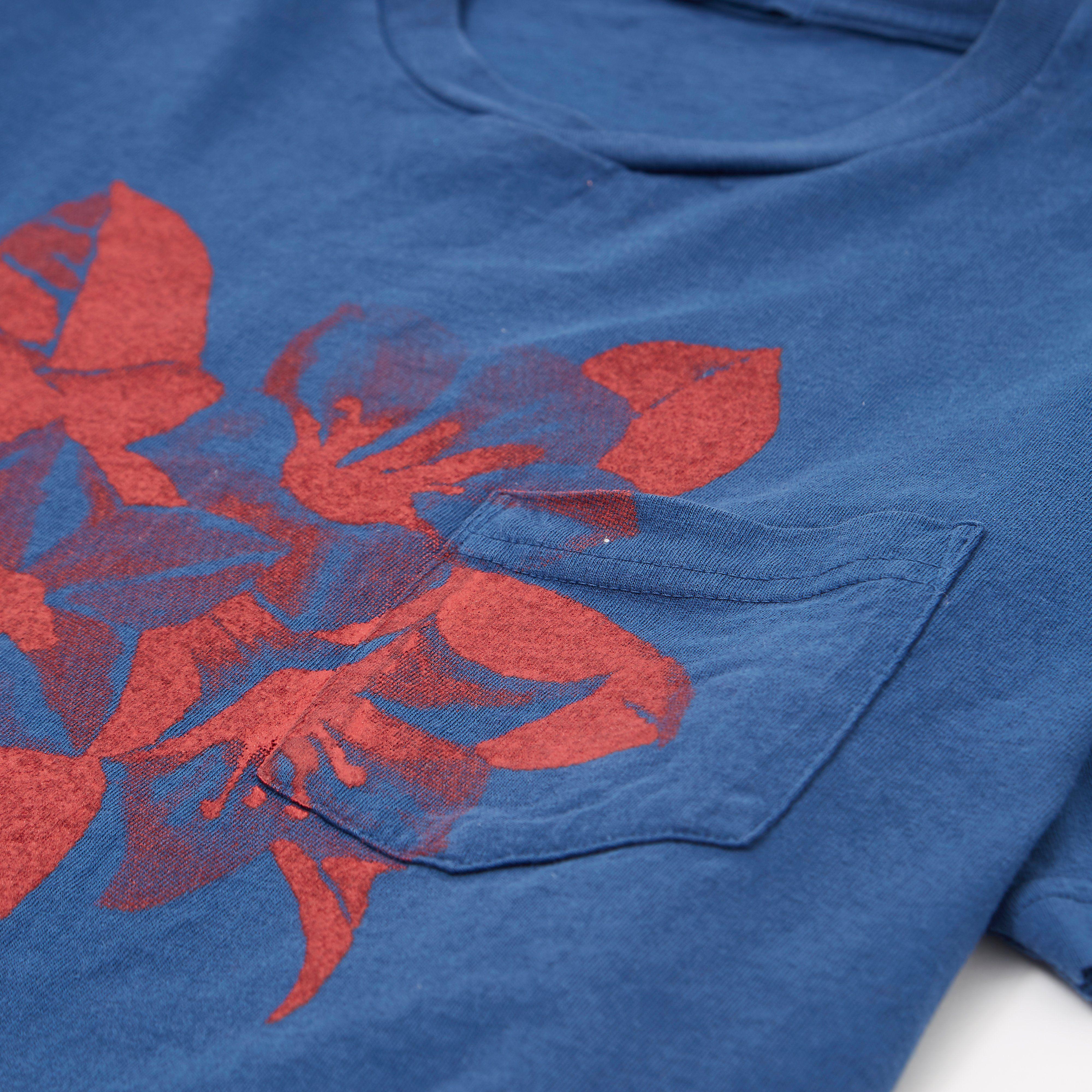 Engineered Garments Royal Floral Printed T-shirt