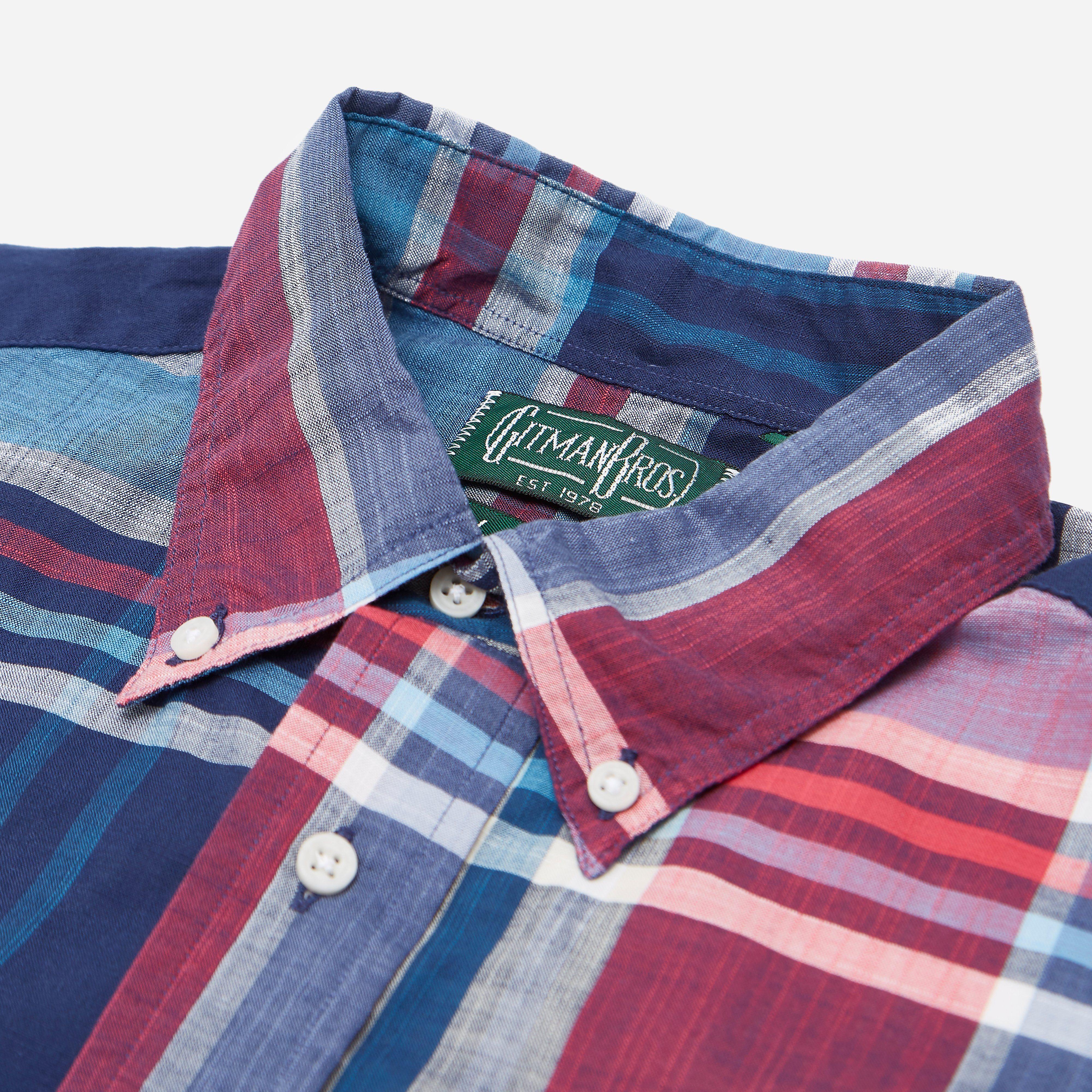 Gitman Vintage Big Madras Shirt