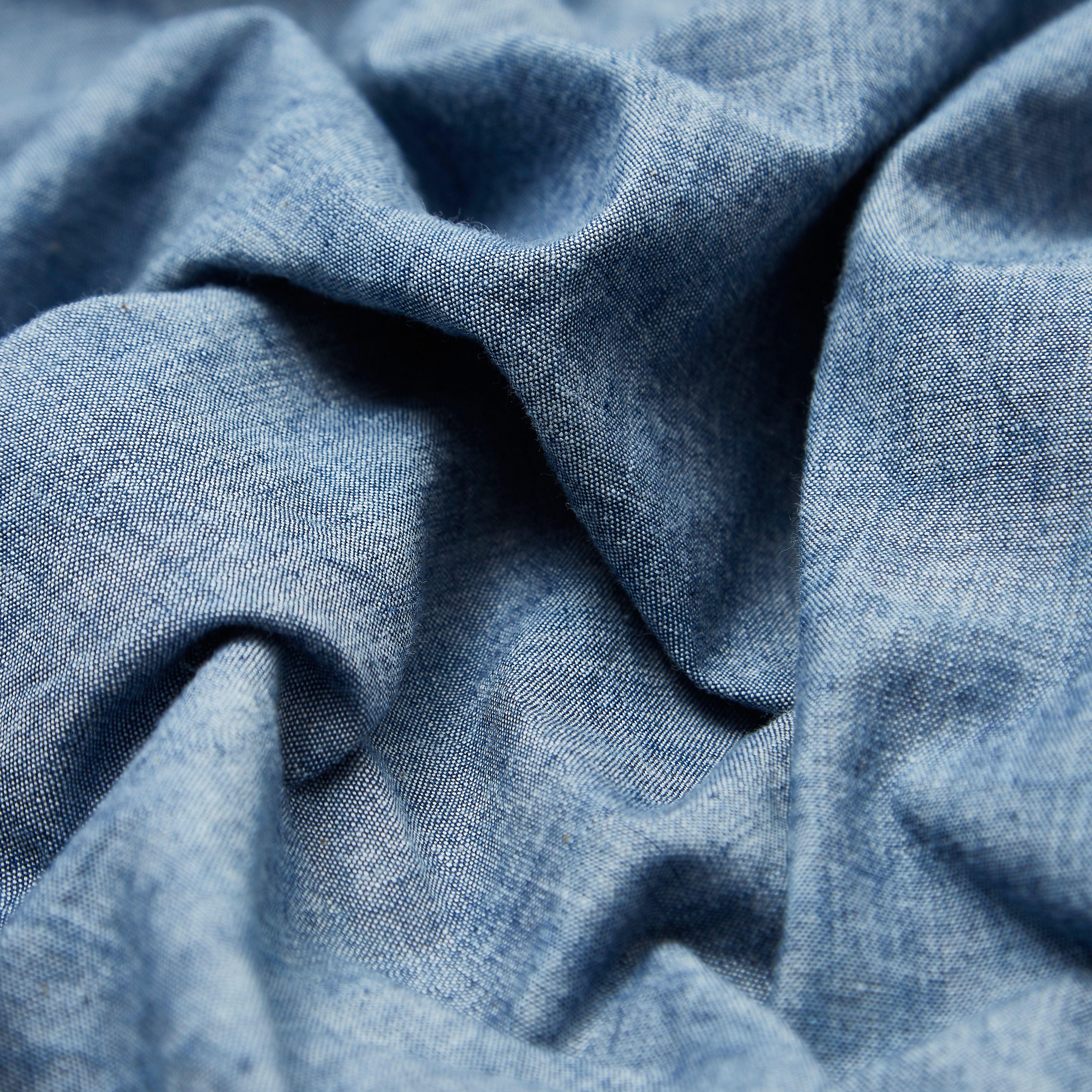Beams Plus Short Sleeve Chambray Shirt