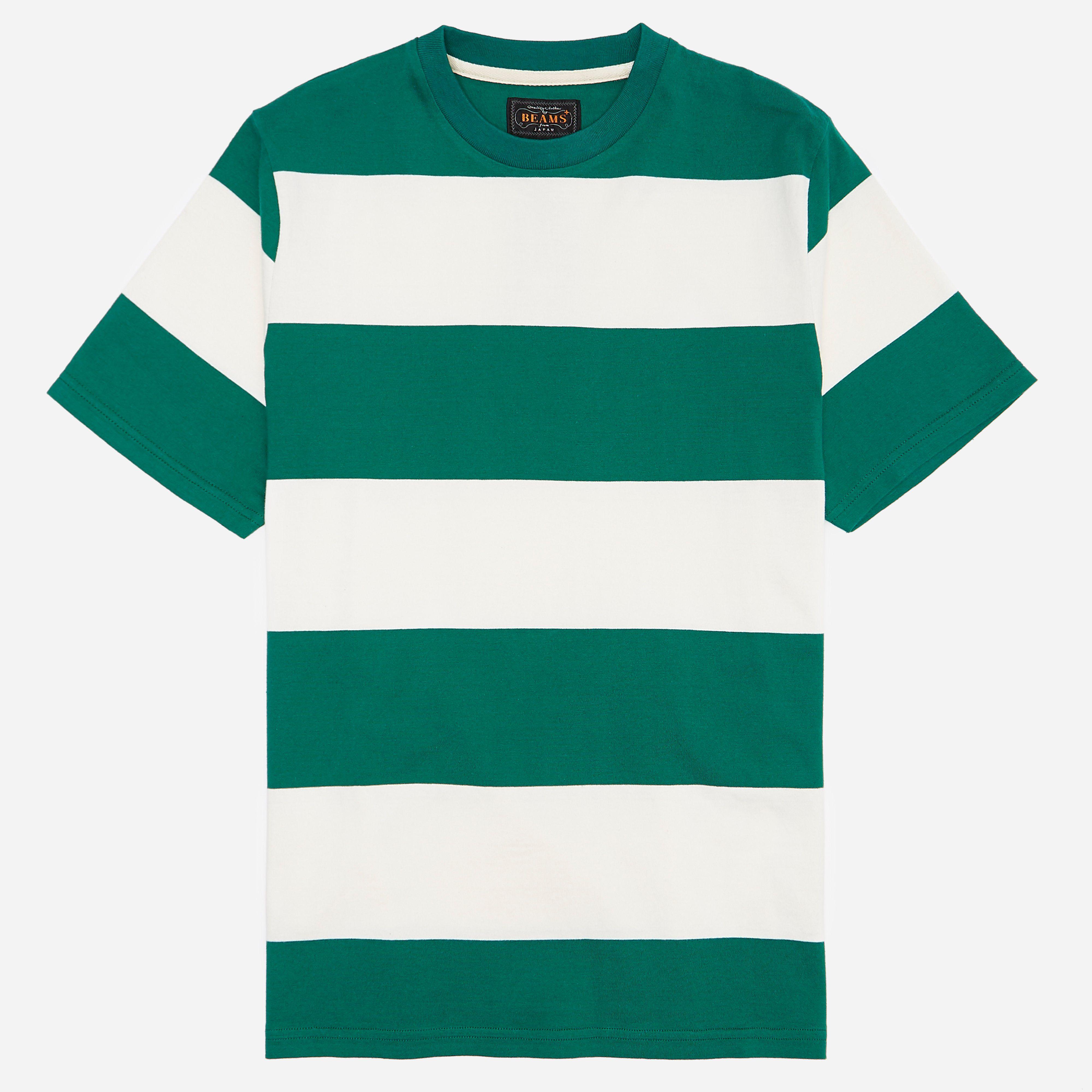 Beams Plus 4 Inch Border T-shirt