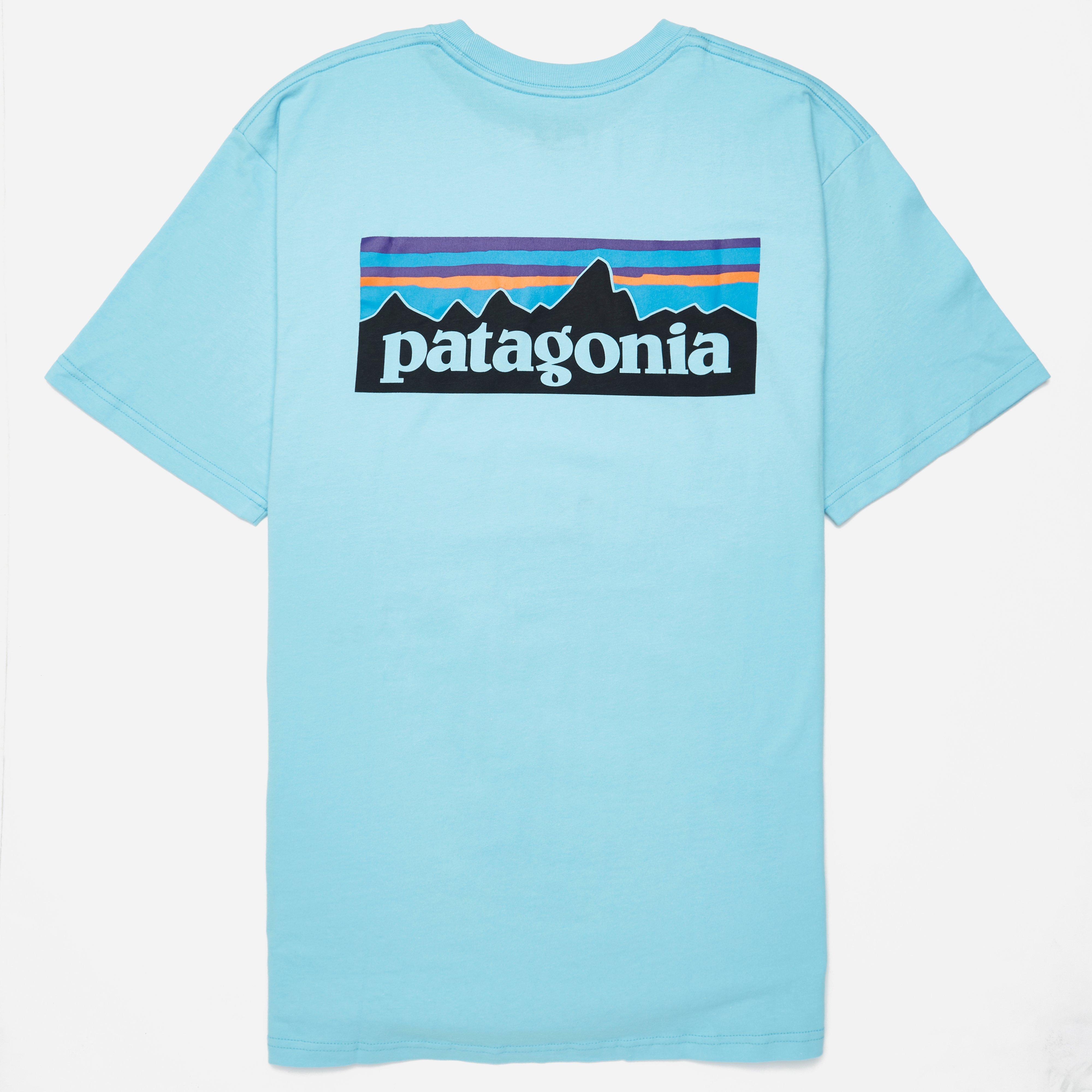 Patagonia P -6 Logo Cotton Pocket T-shirt
