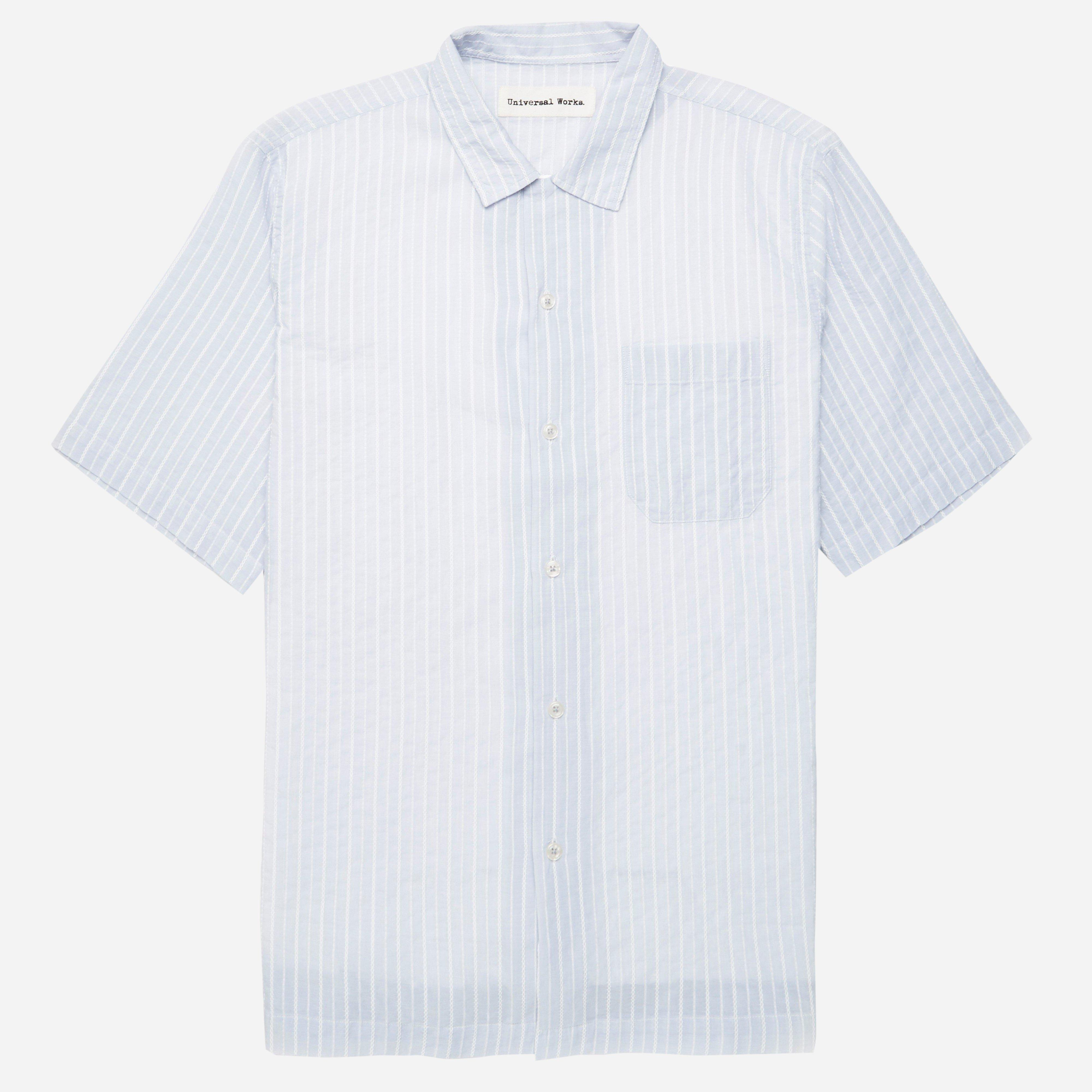 Universal Works Havana Stripe Road Shirt