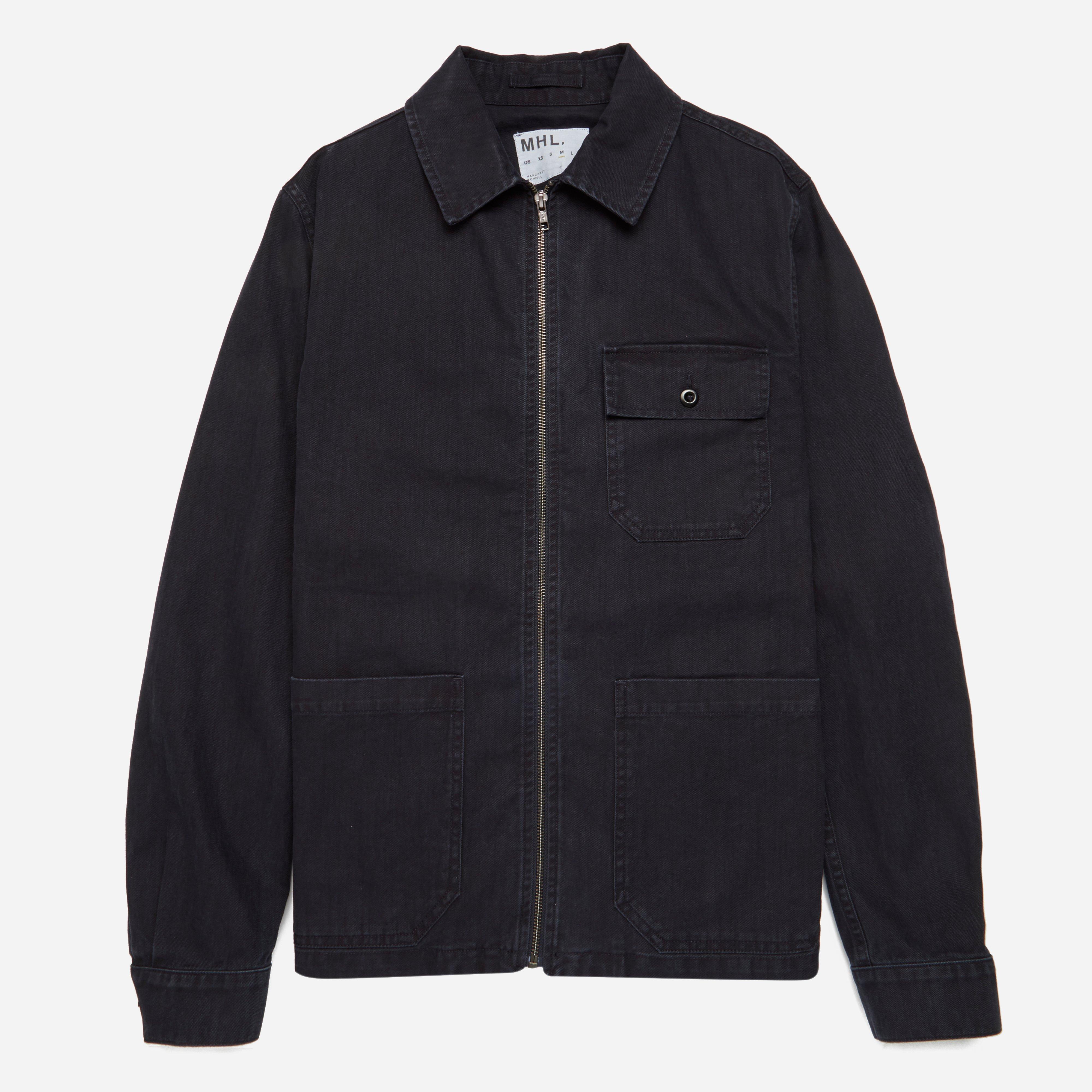 MHL Indigo Twill Side Adjustor Jacket