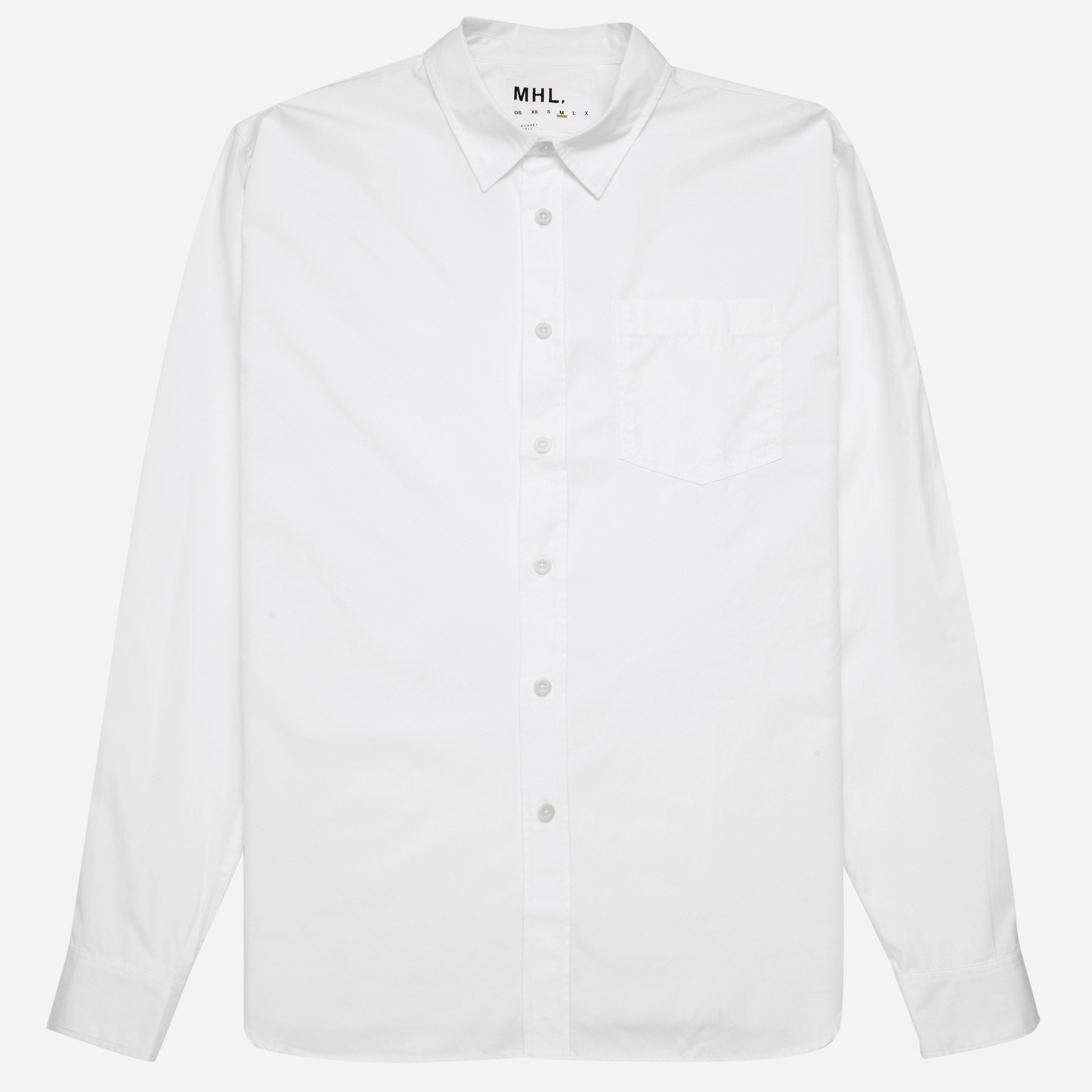 MHL Basic Cotton Poplin Compact Shirt