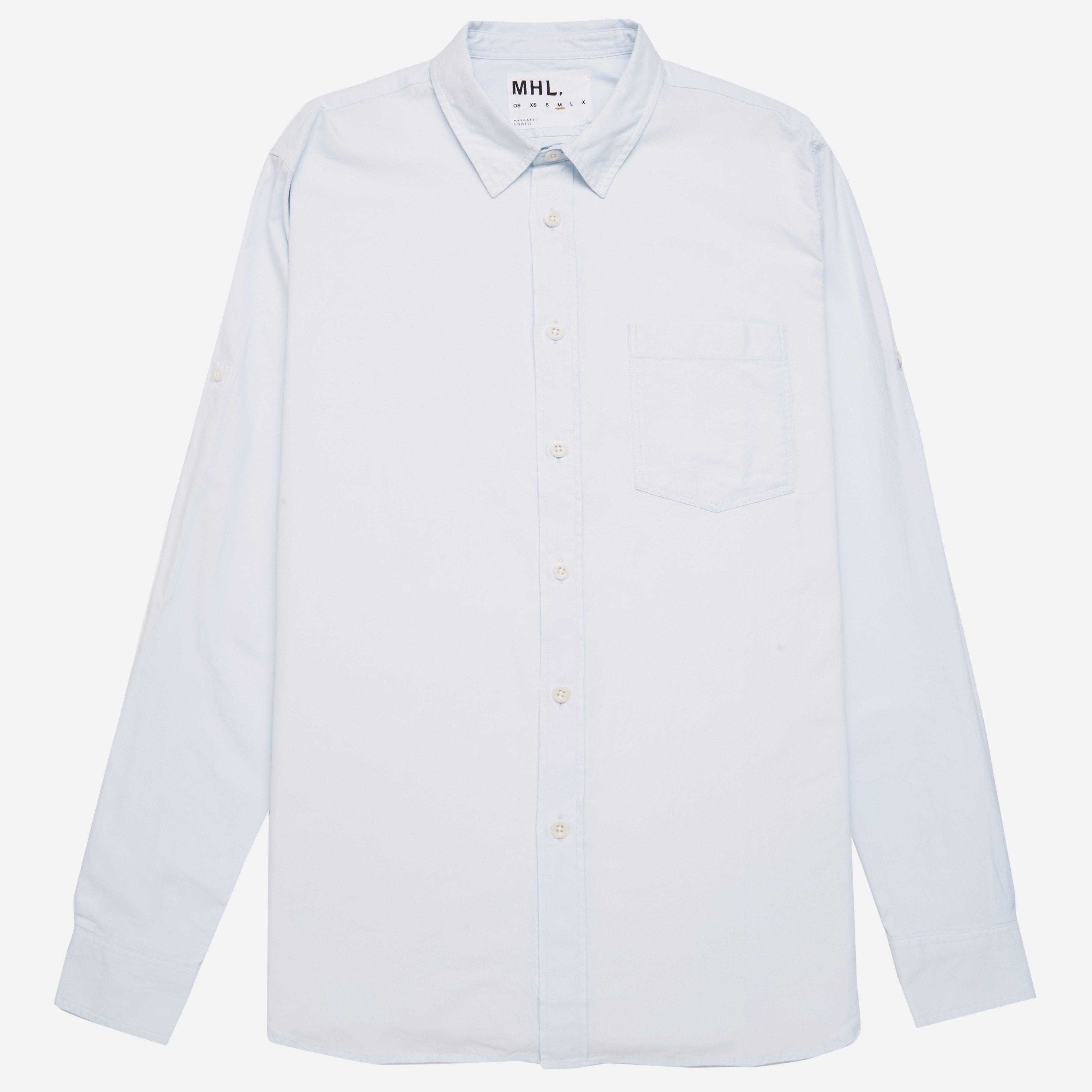 MHL Basic Yarn Dye Oxford Cotton Shirt