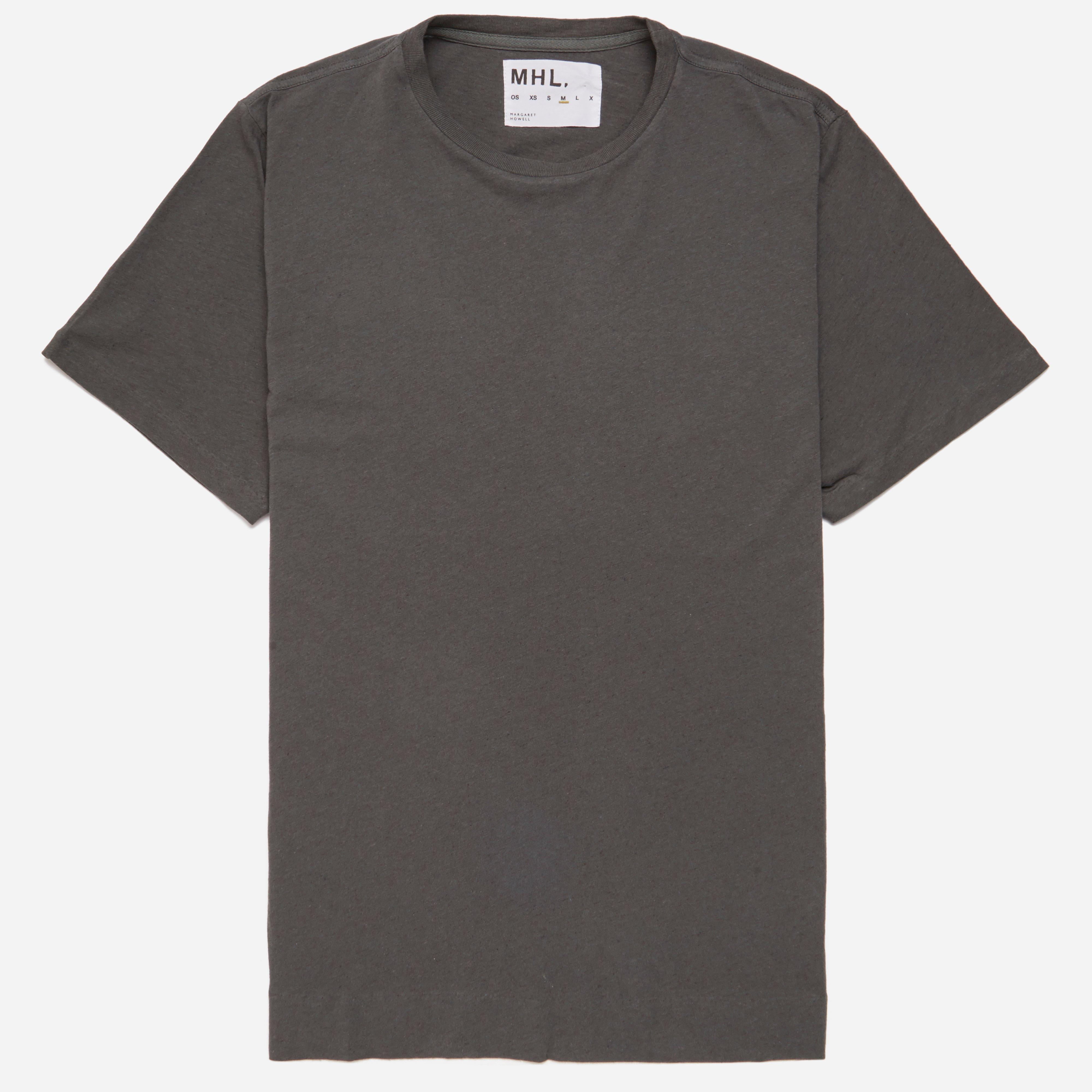 MHL Cotton Linen Jersey Basic T-shirt