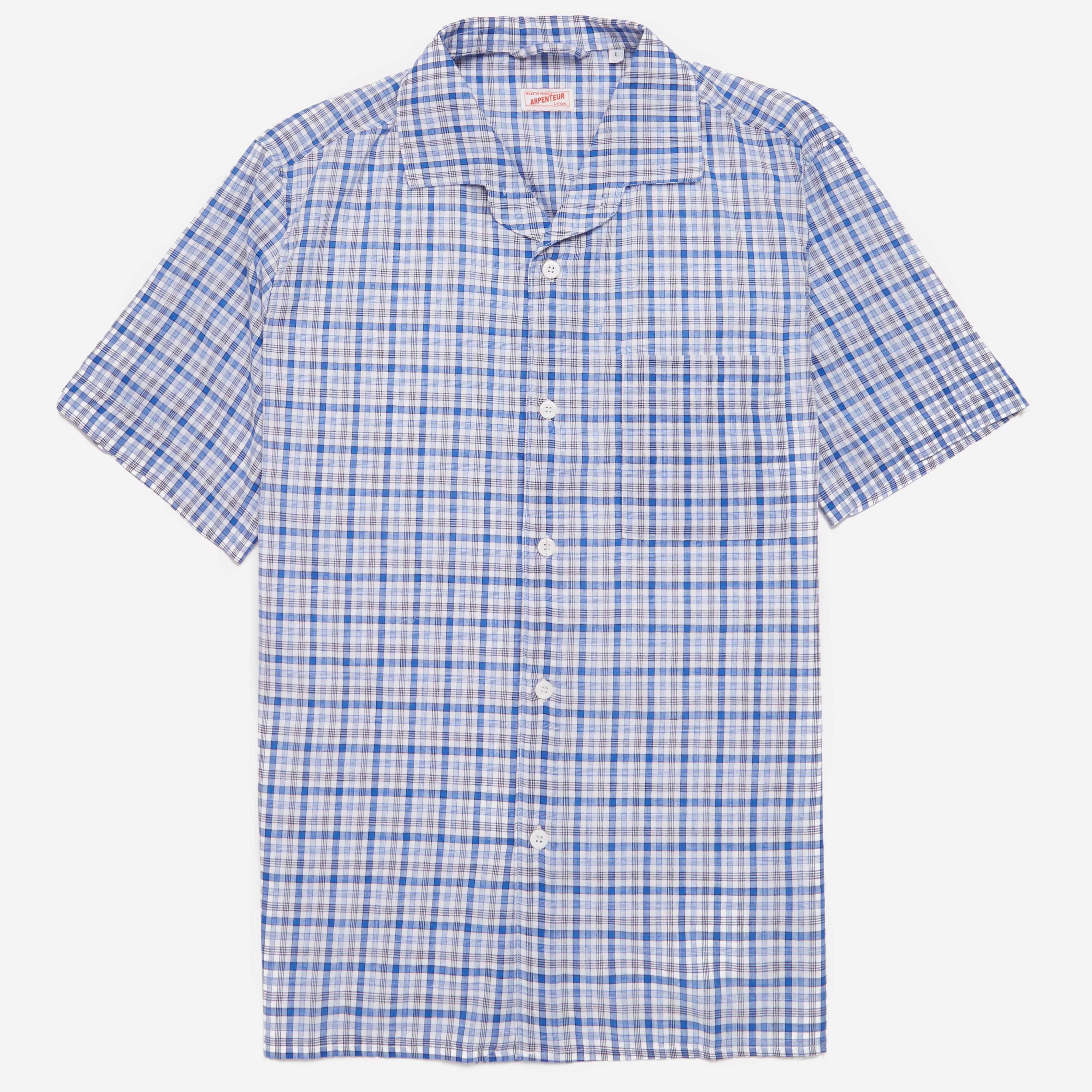 Arpenteur Pyjama Check Shirt