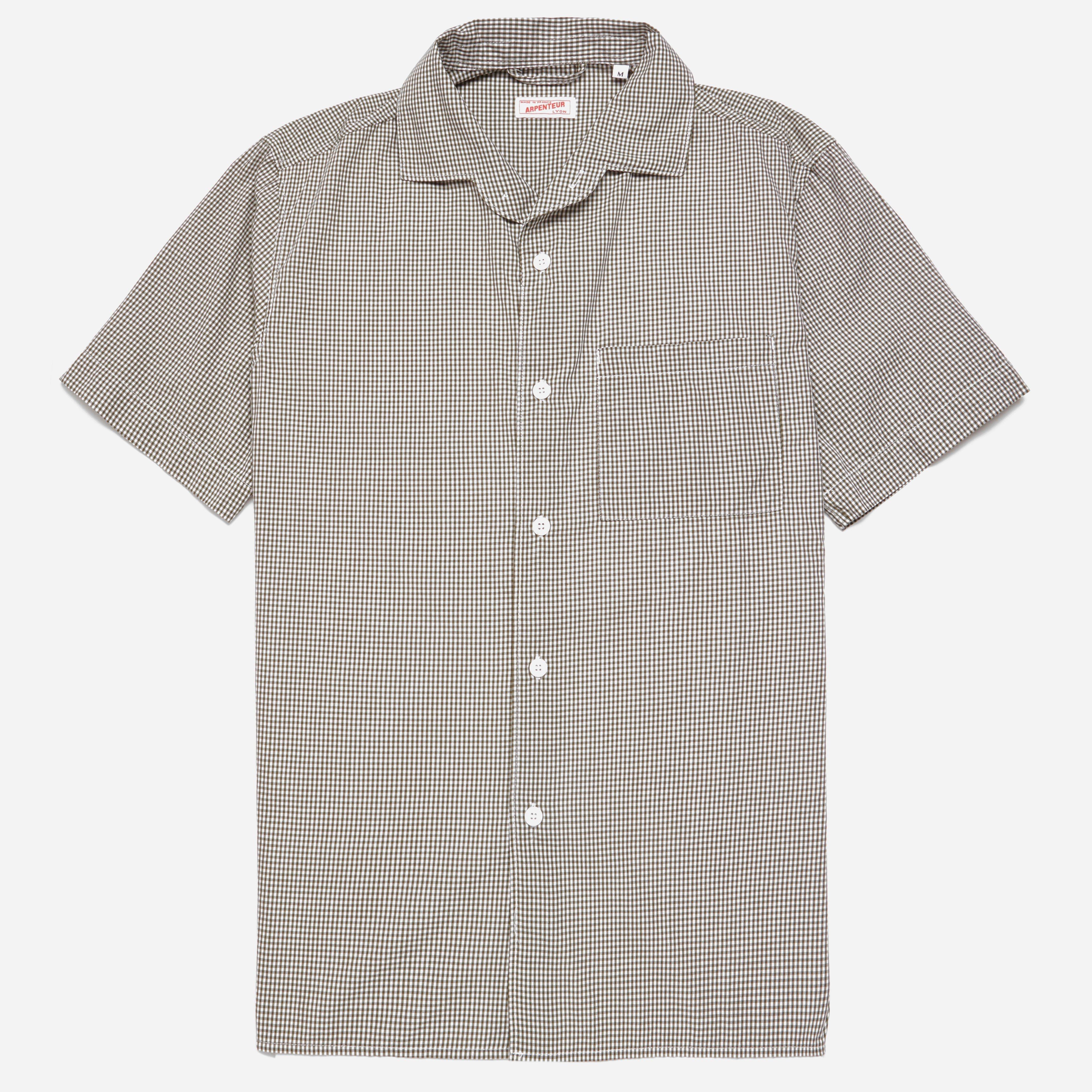 Arpenteur Pyjama Gingham Shirt
