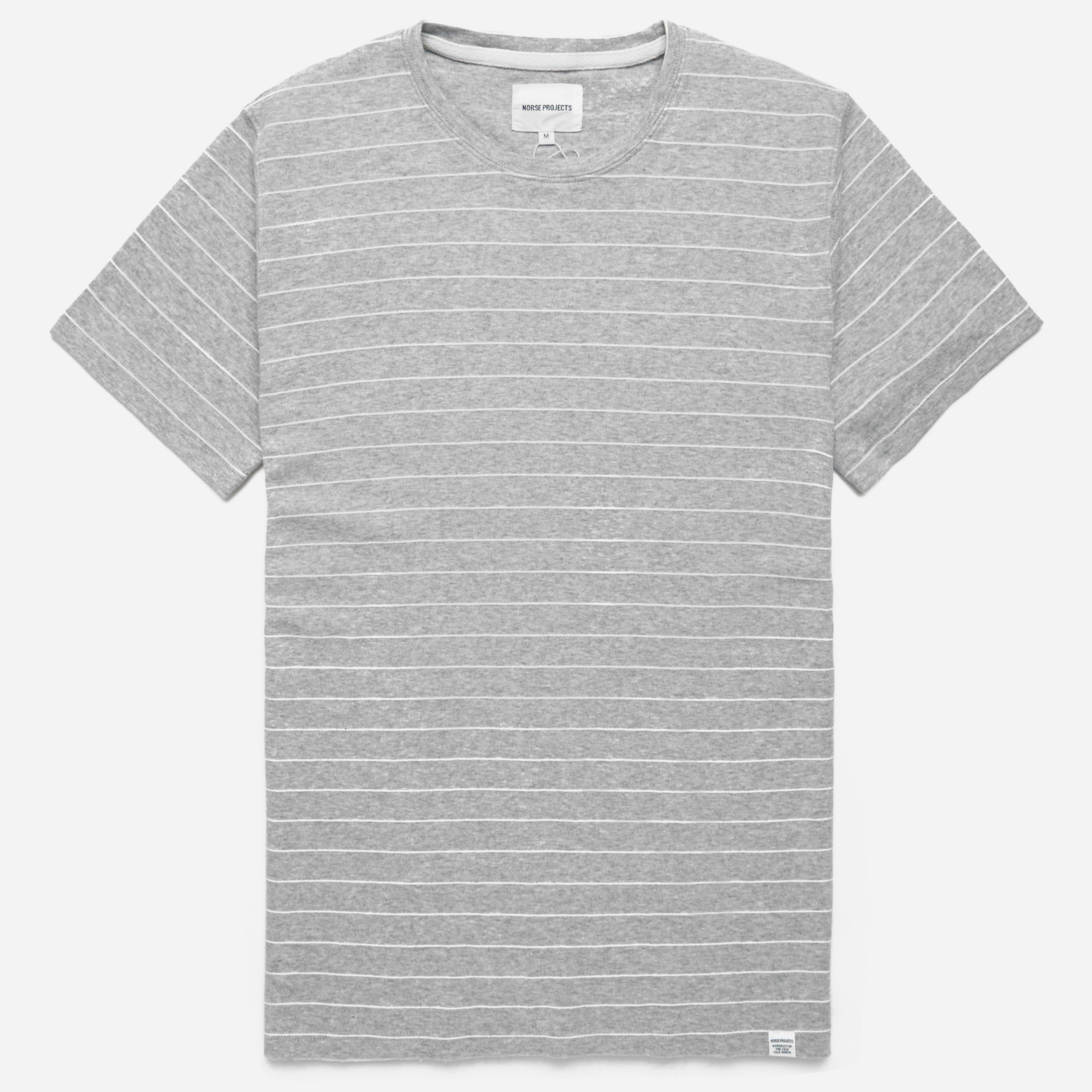 Norse Projects Esben Raised Stripe T-shirt