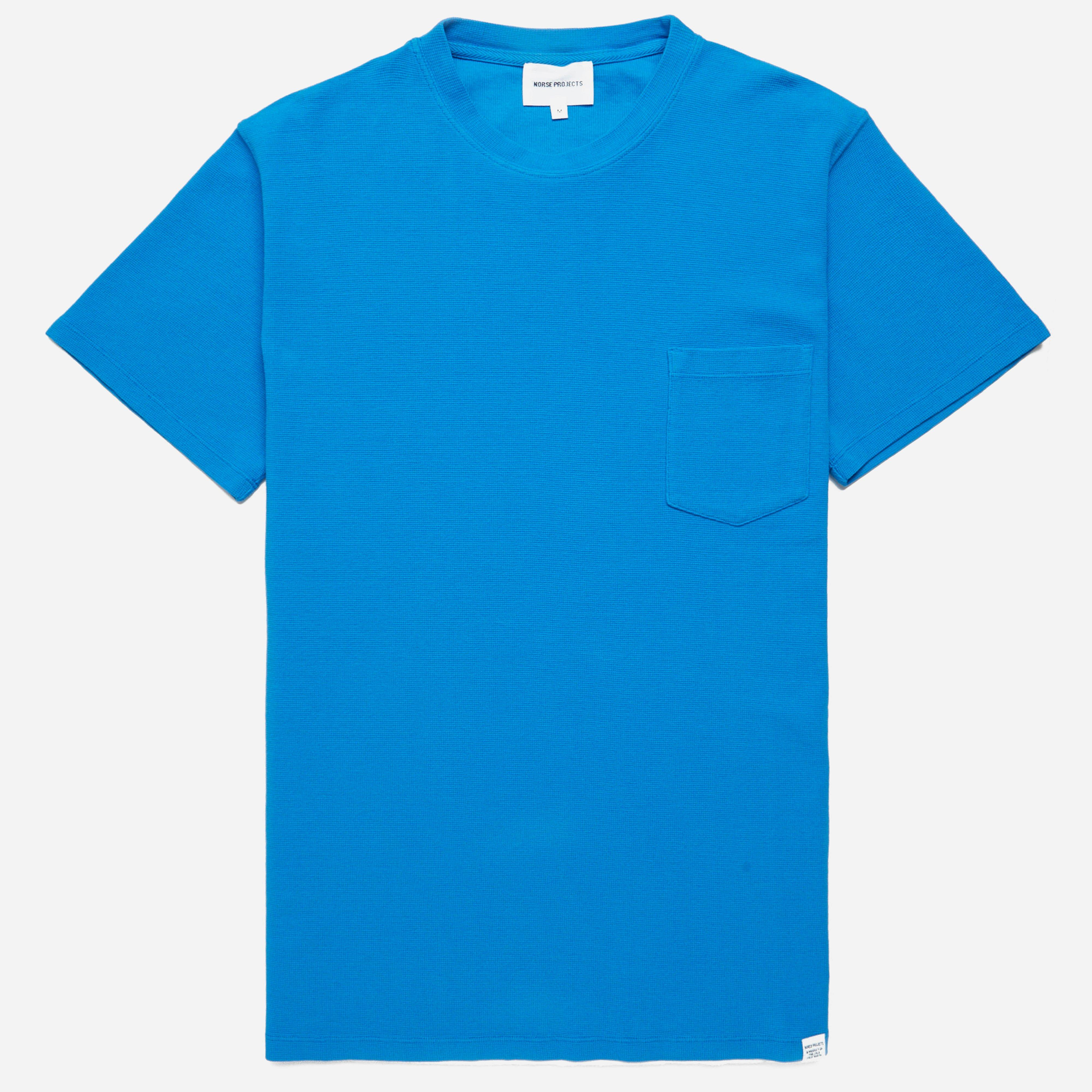 Norse Projects Niels Garment Dye Pique T-shirt