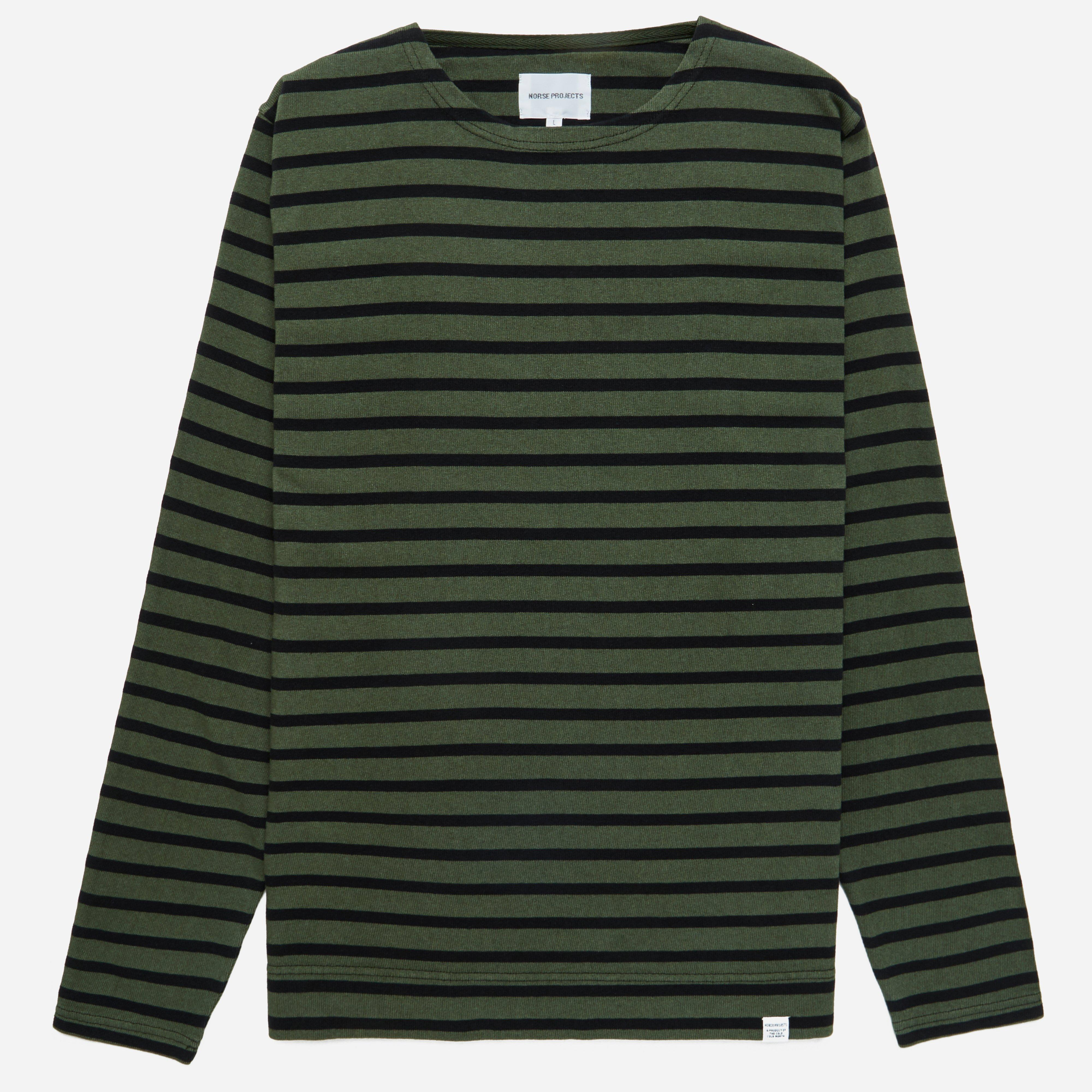 Norse Projects Godtfred Classic Compact Overdye Sweatshirt