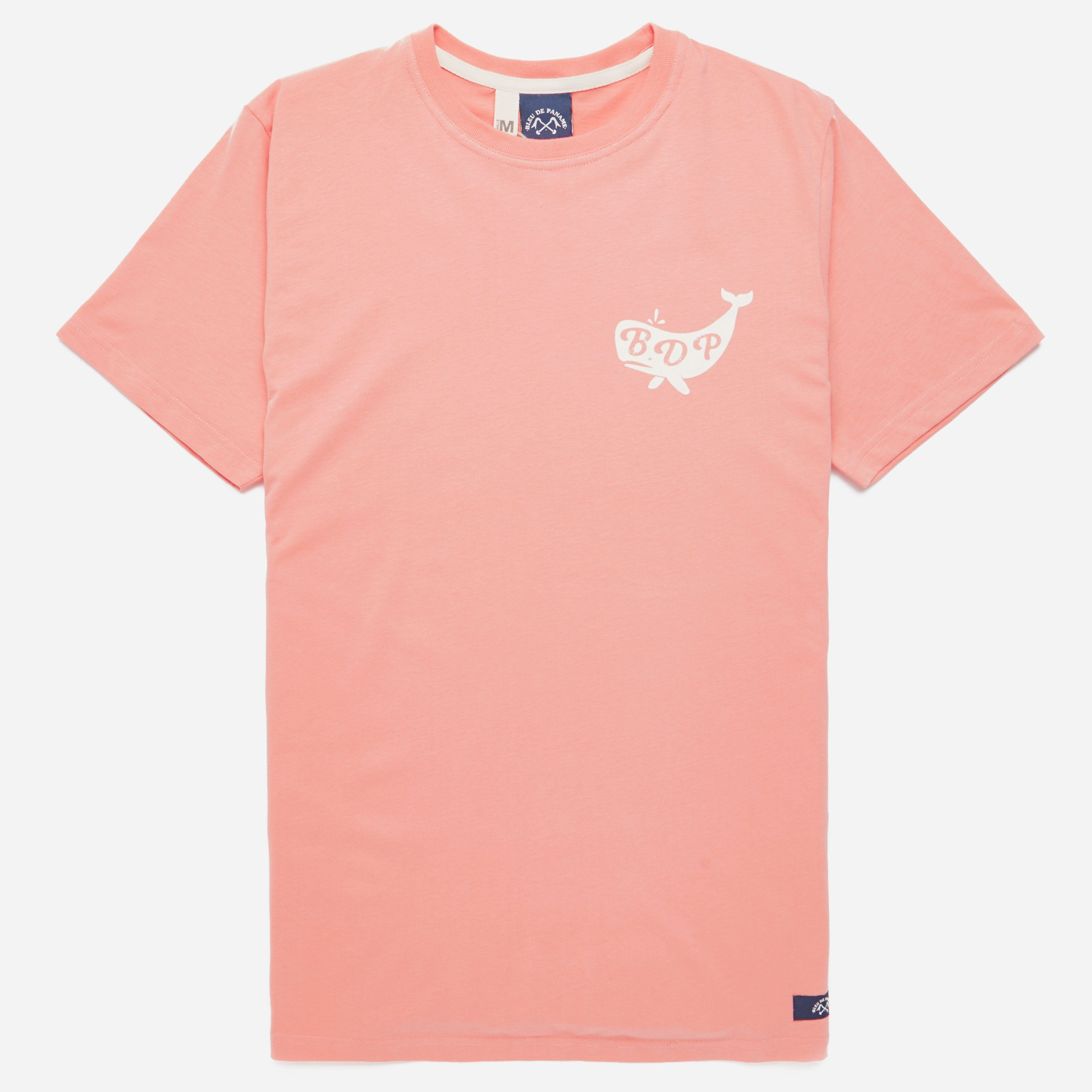 Bleu De Paname Whale Logo Tee