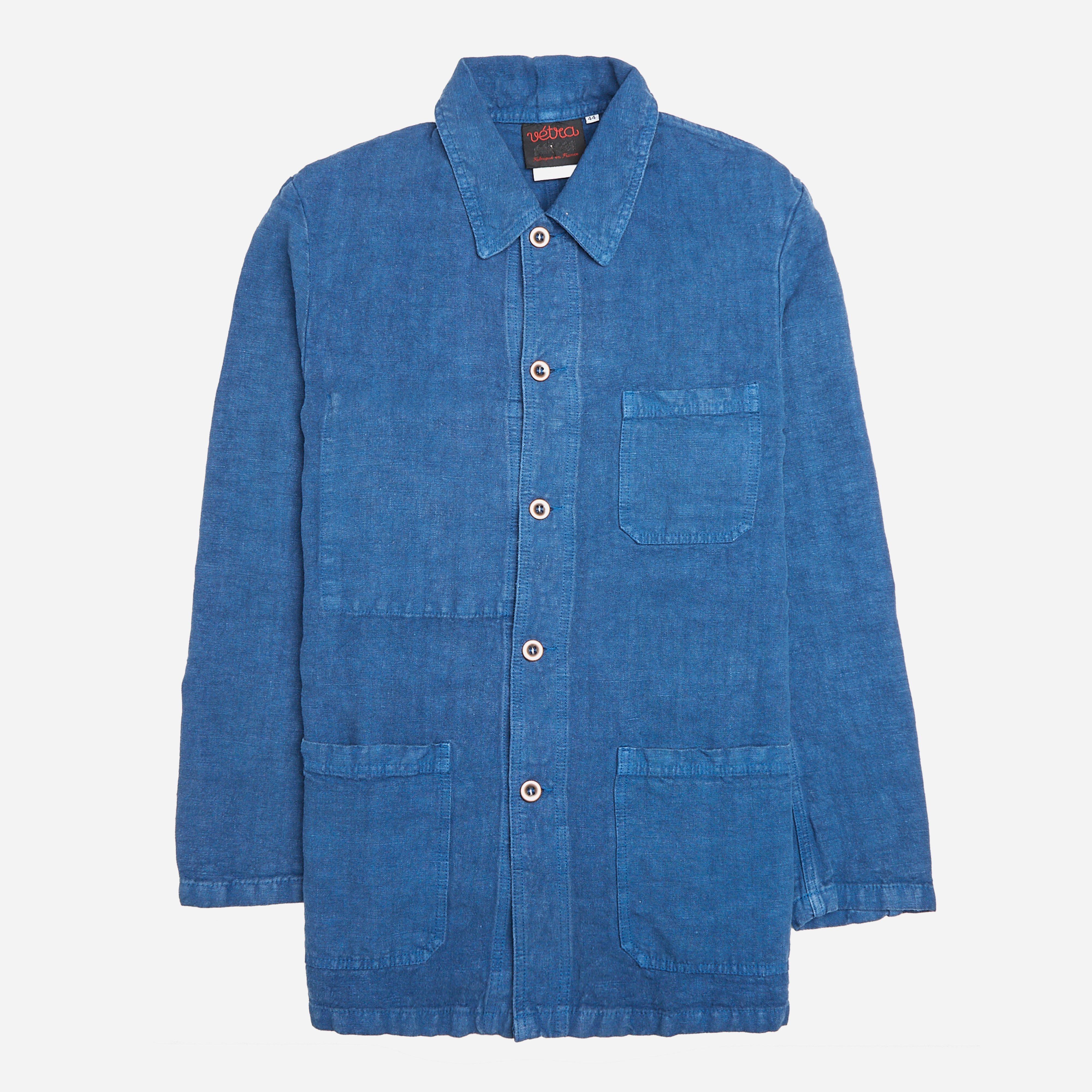 Vetra No 4 Heavy Linen Workwear Jacket